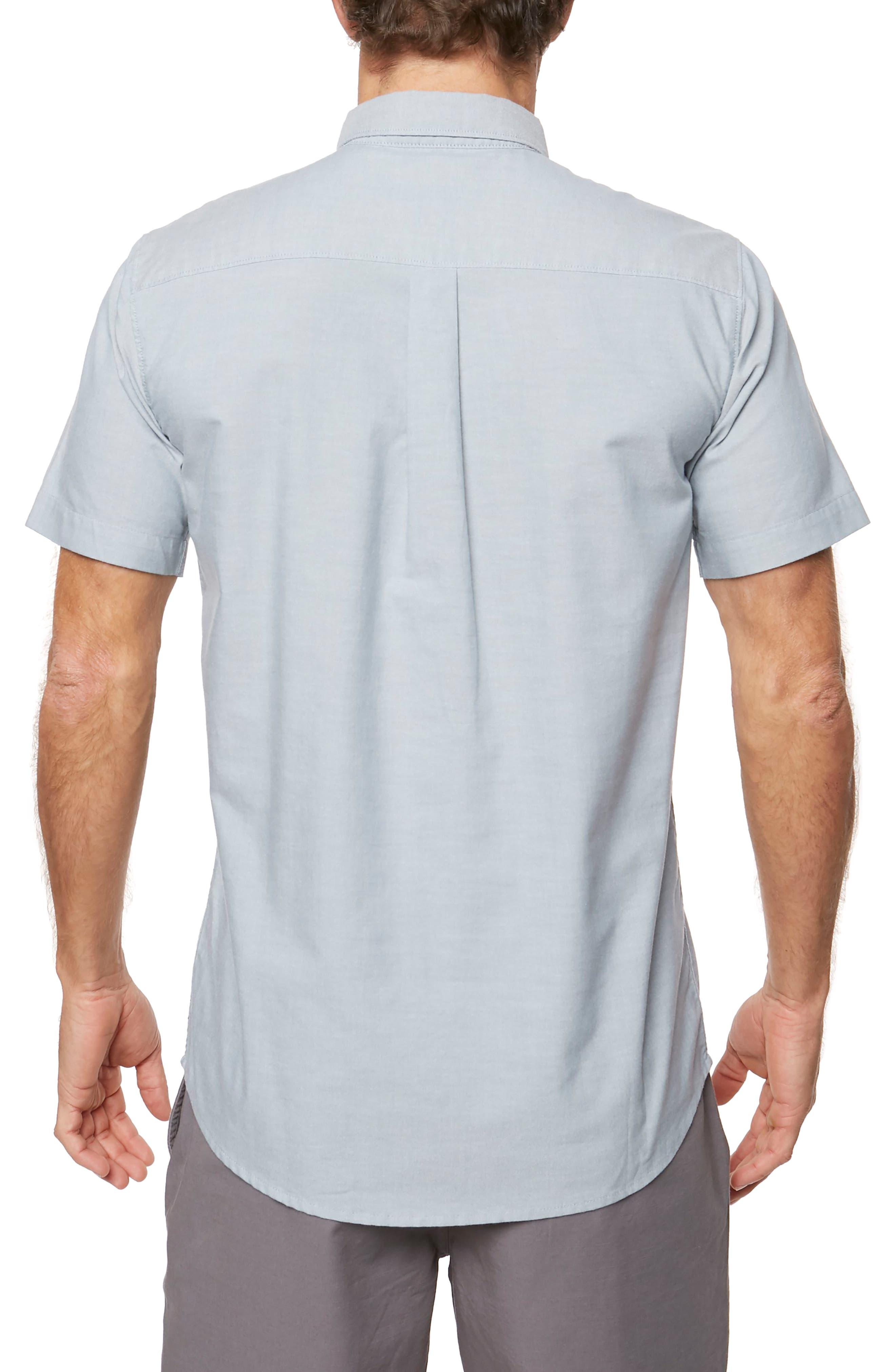 Banks Woven Shirt,                             Alternate thumbnail 2, color,                             Dark Blue
