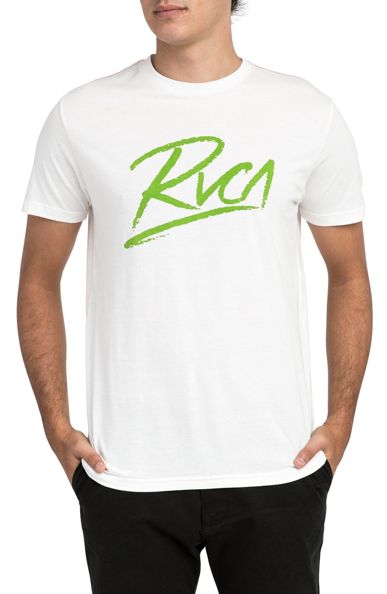 Scribe Logo T-Shirt,                         Main,                         color, Antique White
