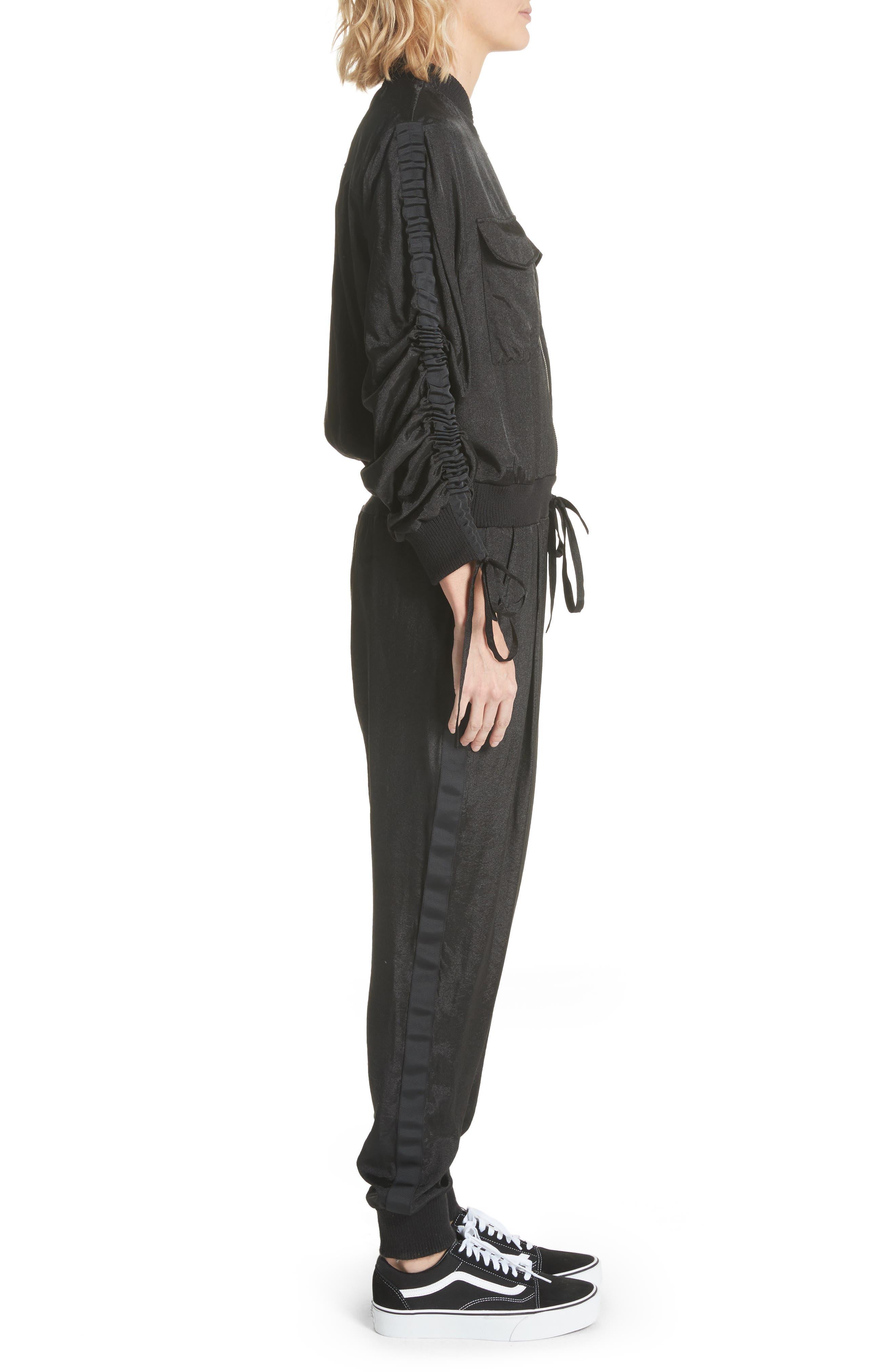 Alternate Image 3  - Clu Drawstring Sleeve Jumpsuit