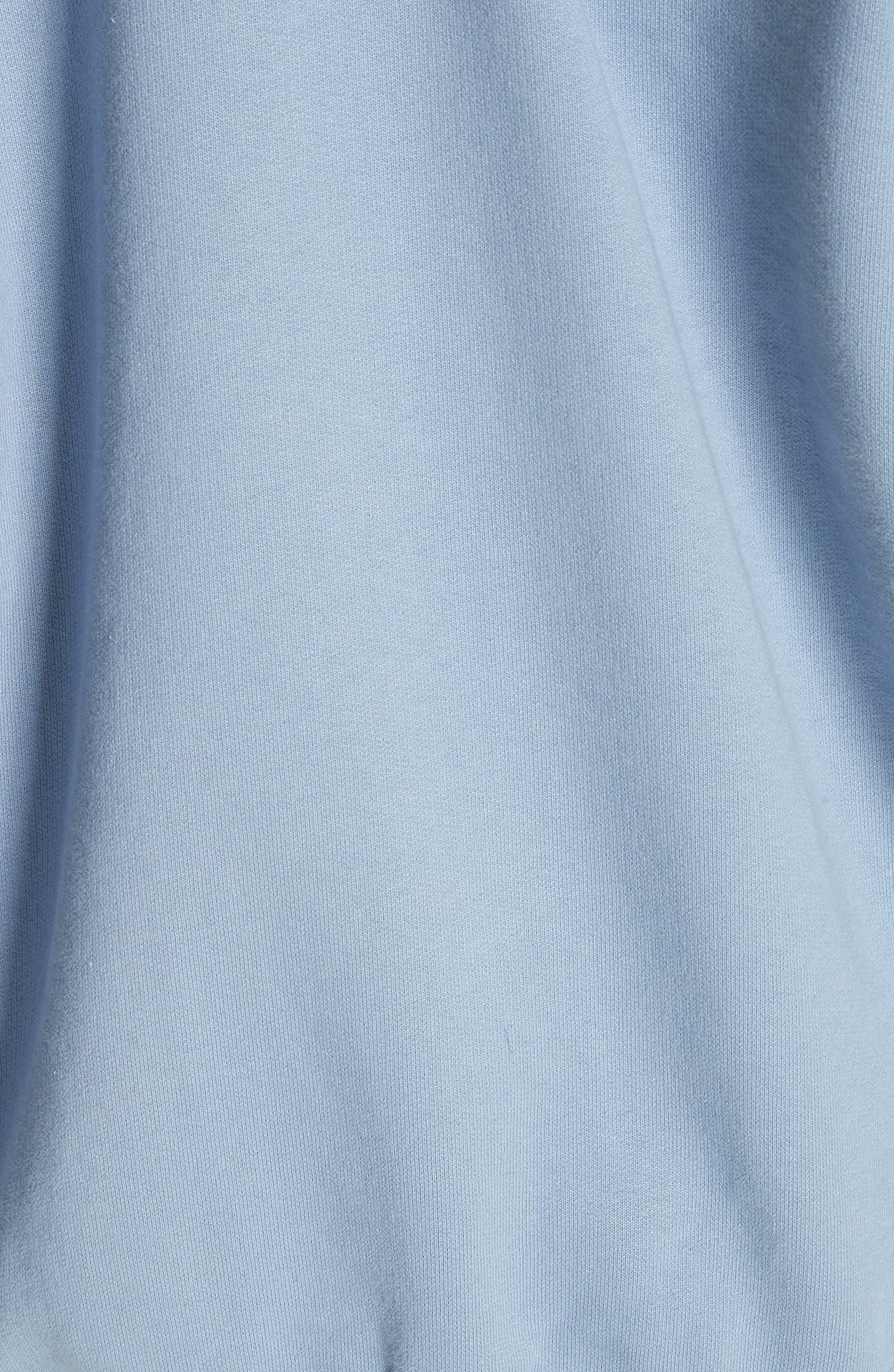 Alternate Image 5  - Vetements Cold Shoulder Hoodie