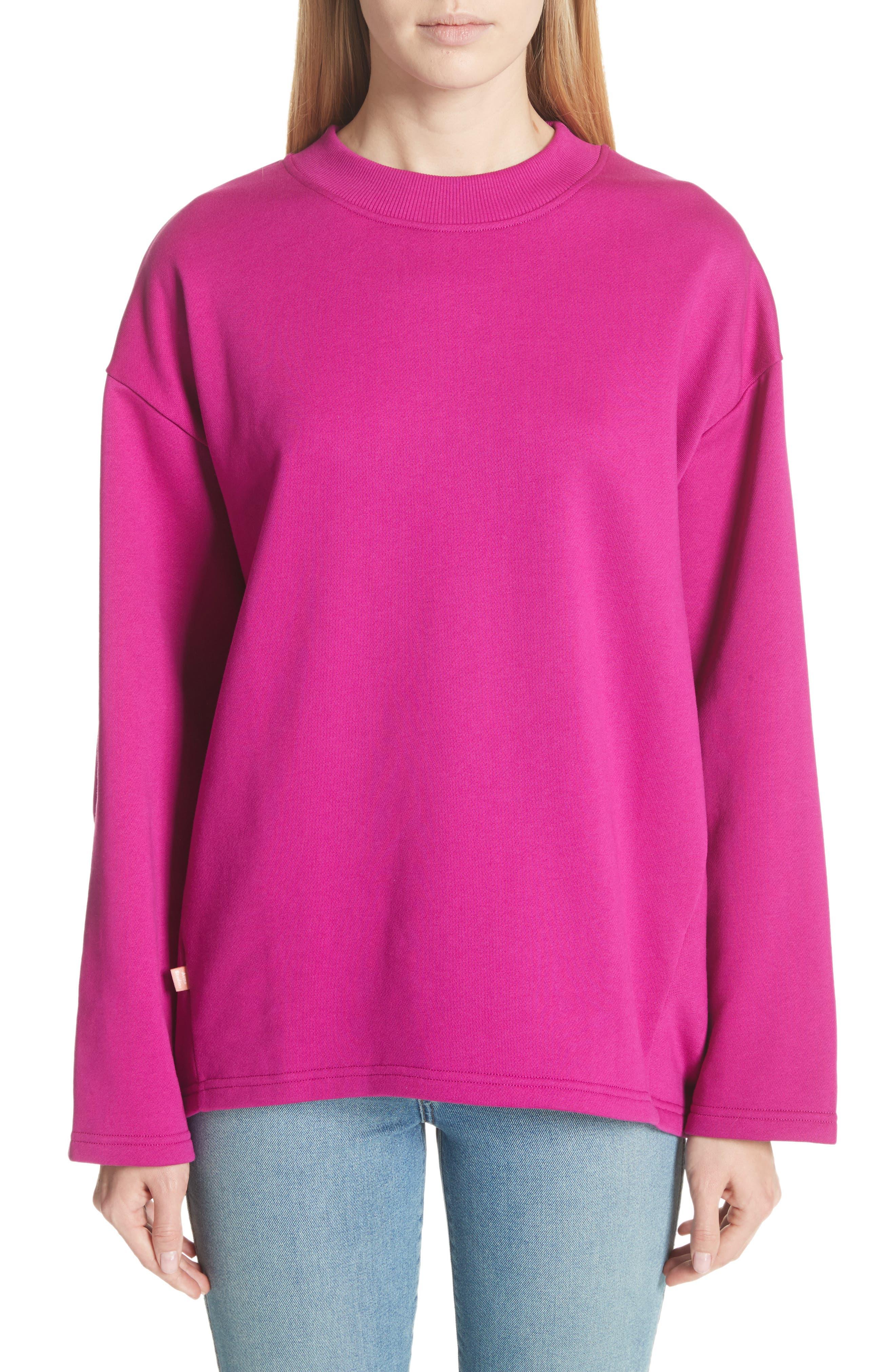 Karvell Sweatshirt,                         Main,                         color, Acid Purple