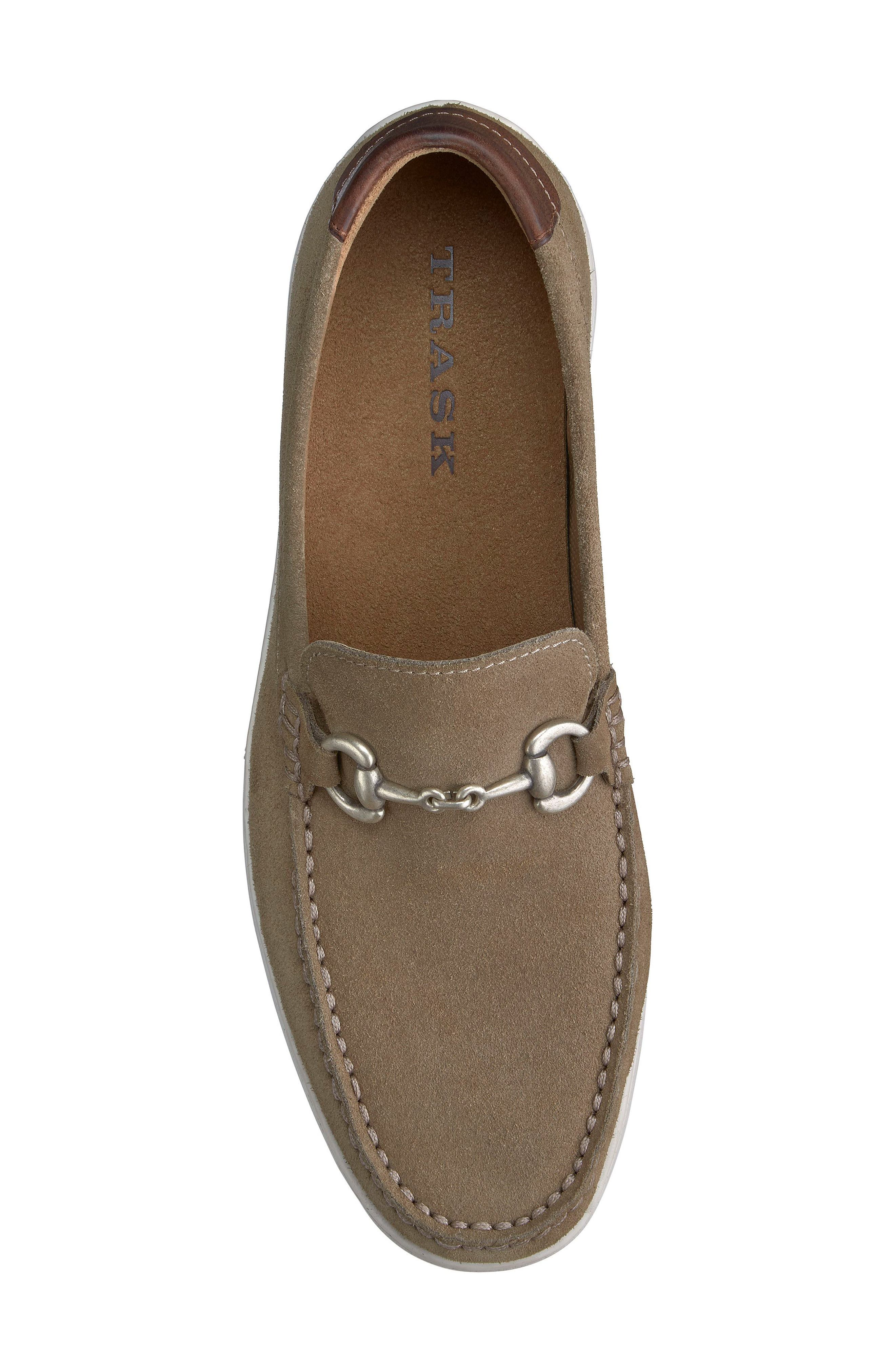 Stalworth Bit Loafer,                             Alternate thumbnail 6, color,                             Taupe Leather