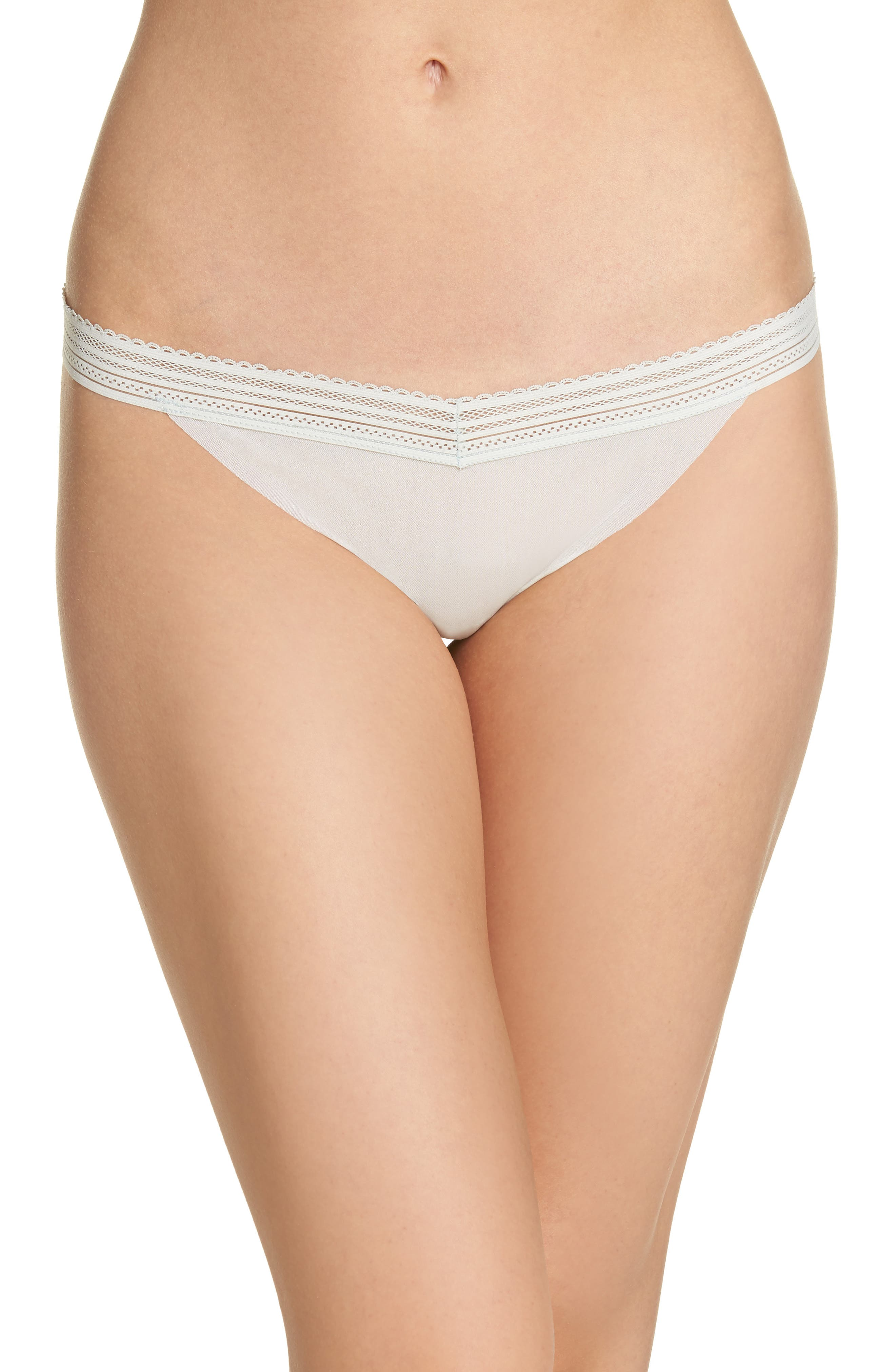 Laced In Aire Thong,                             Main thumbnail 1, color,                             Desert Sage