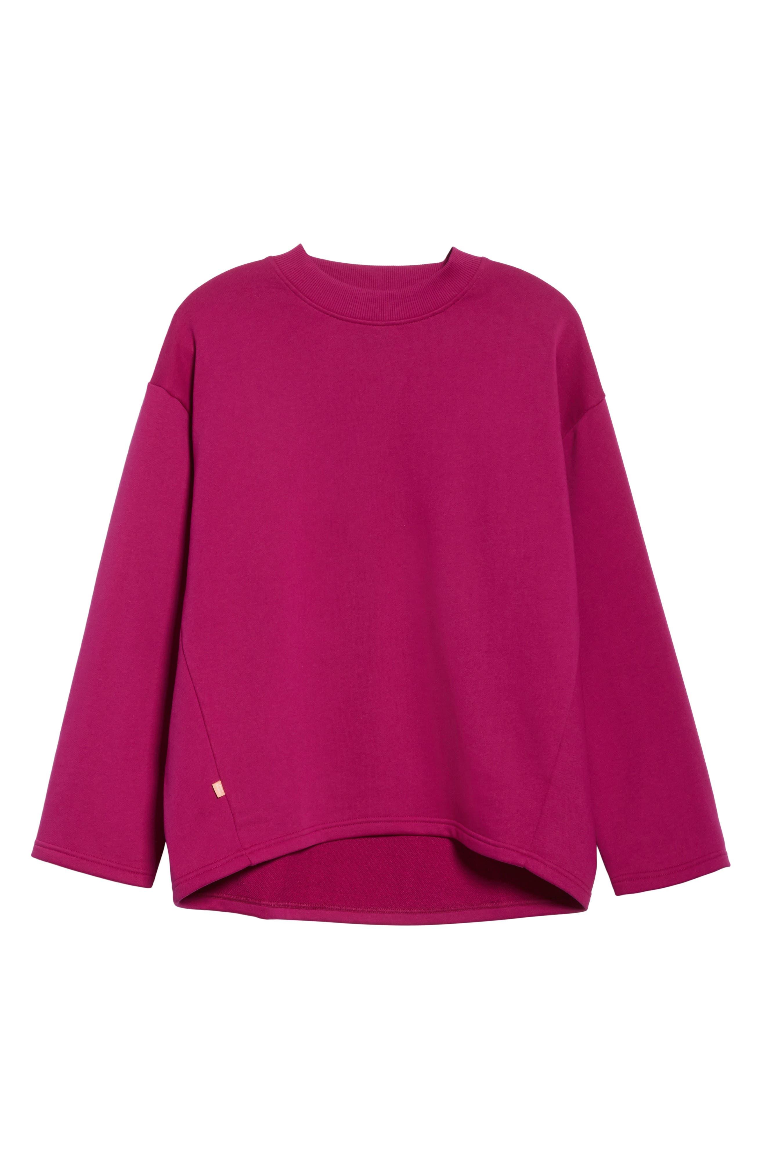 Karvell Sweatshirt,                             Alternate thumbnail 6, color,                             Acid Purple