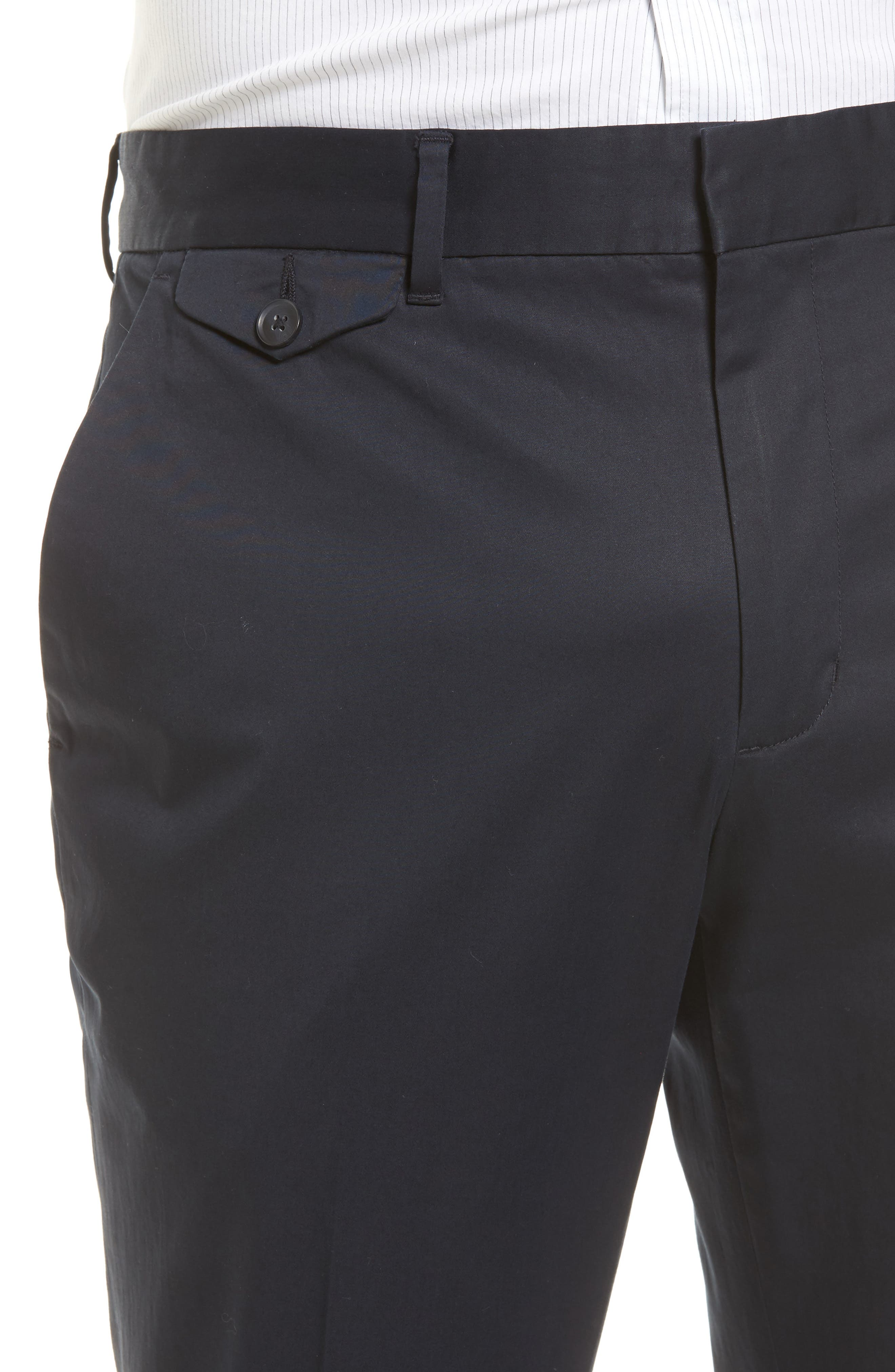 Alternate Image 4  - Vince Officer Flat Front Chino Pants