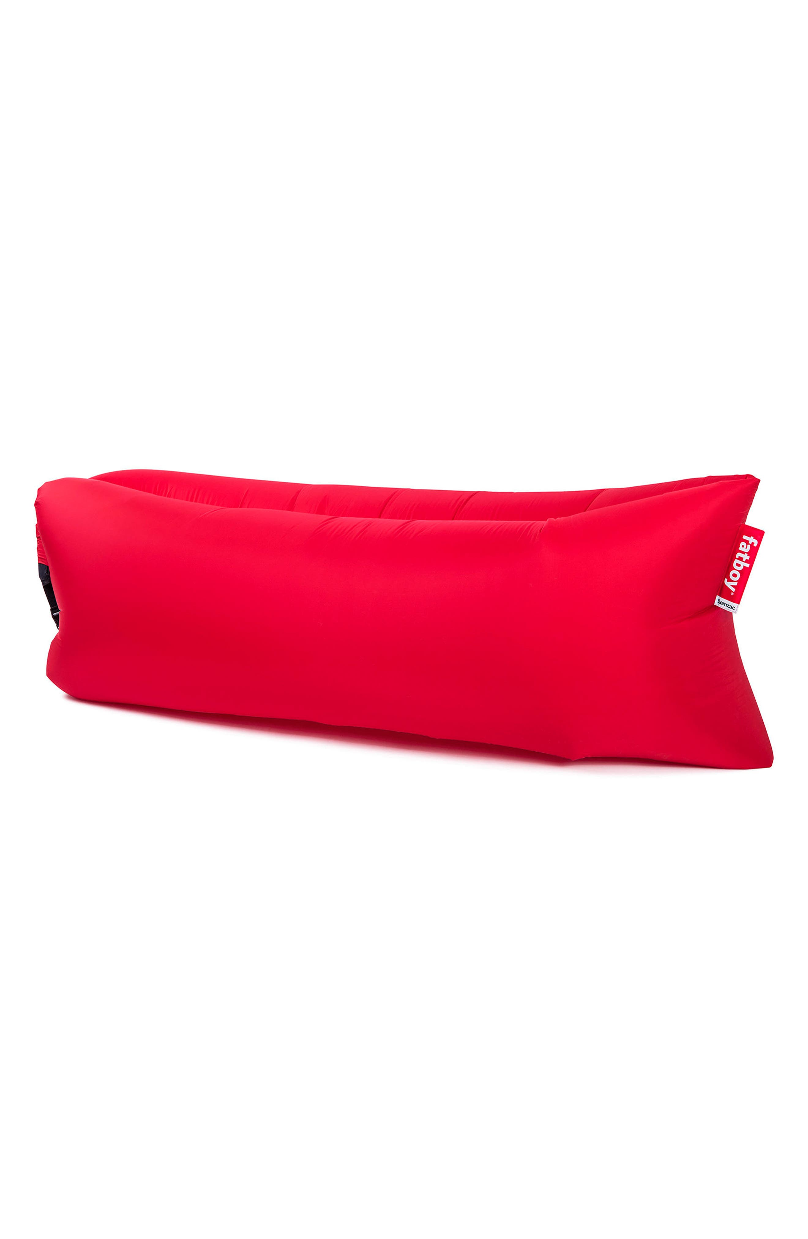 Lamzac<sup>®</sup> The Original Inflatable Lounger,                             Main thumbnail 1, color,                             Red 2