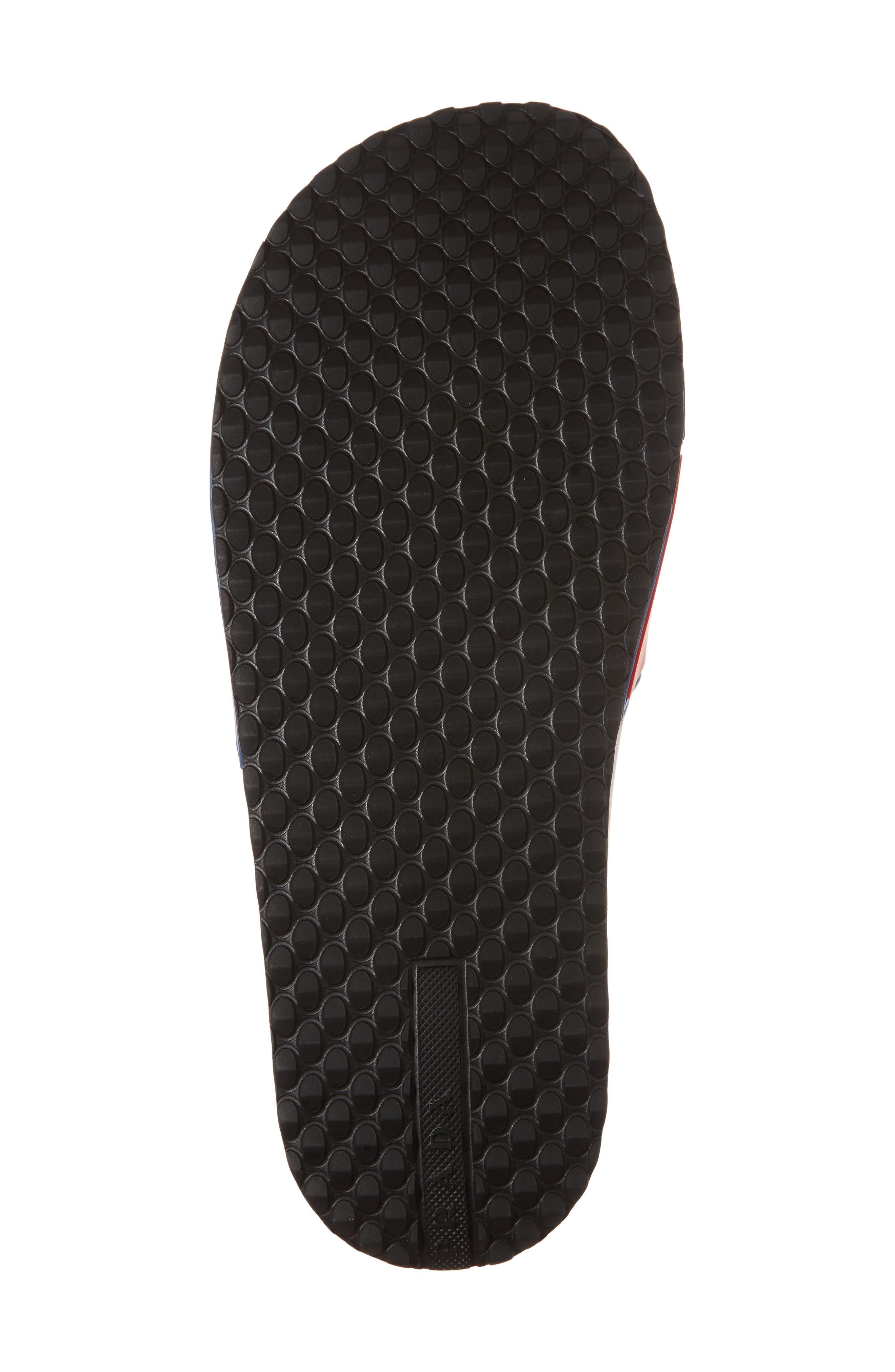 Alternate Image 6  - Prada Linea Rossa Logo Slide Sandal (Men)