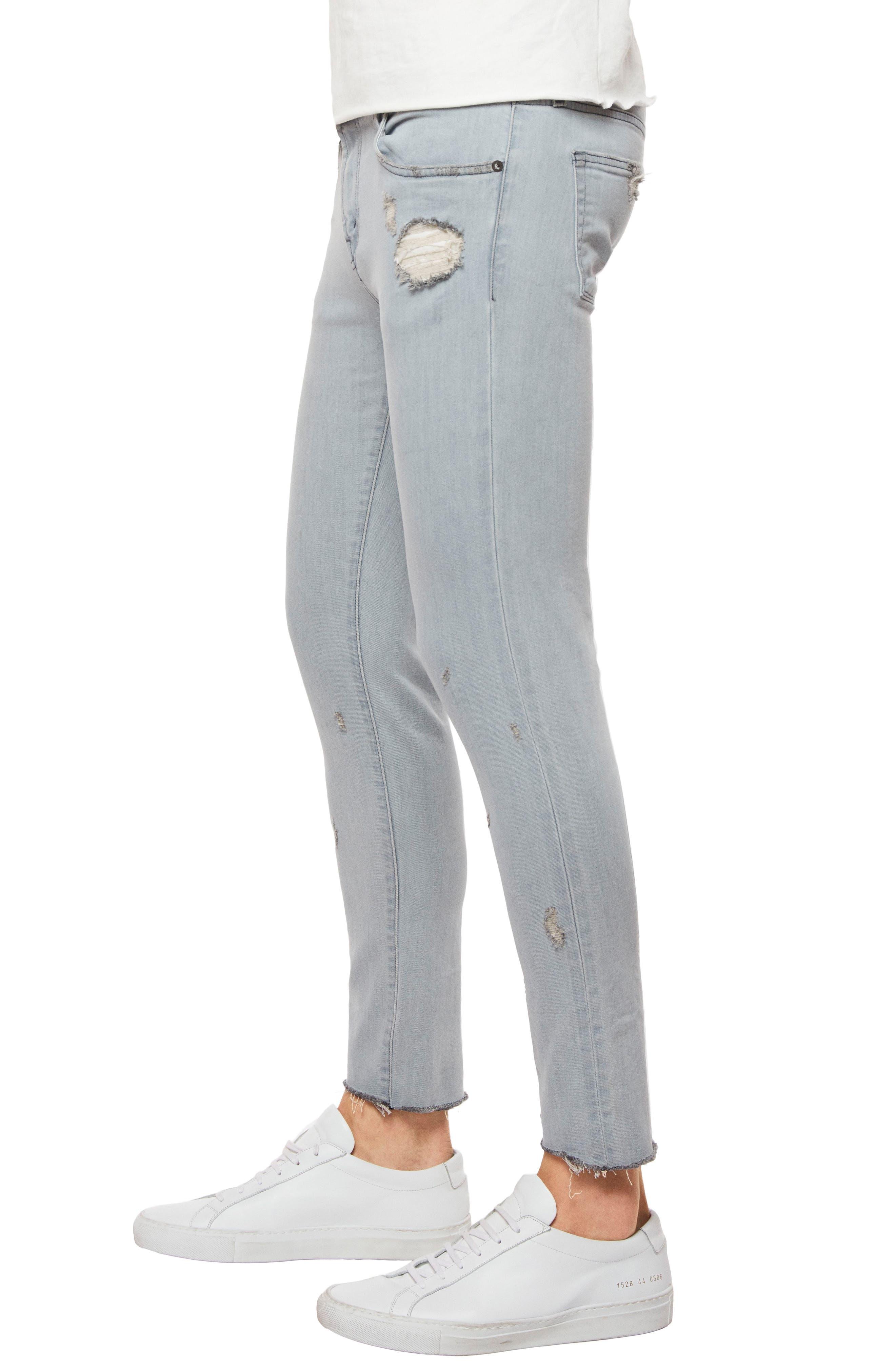 Tyler Slim Fit Jeans,                             Alternate thumbnail 3, color,                             Trounced Porpoise