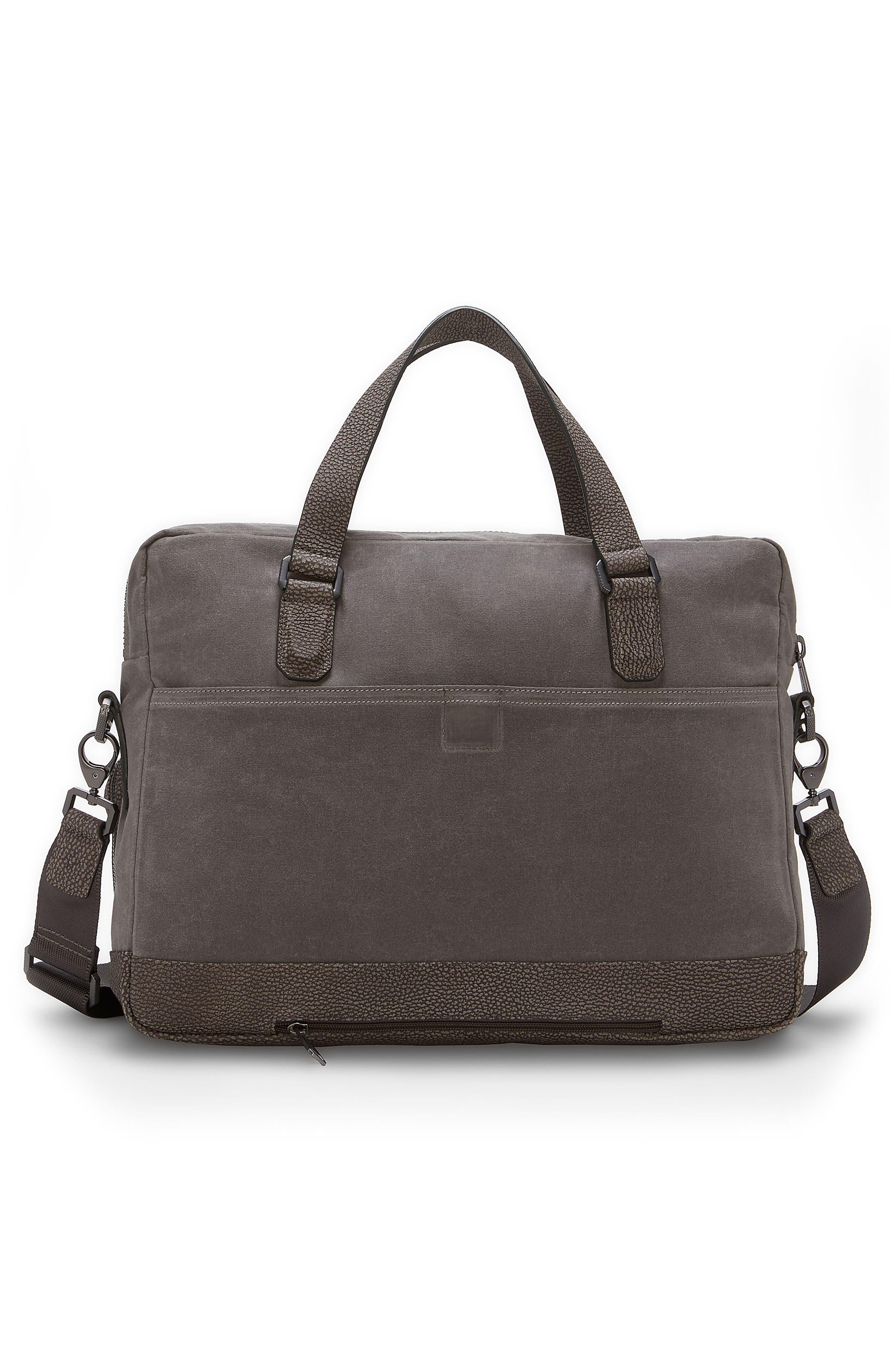 Basin Satchel Briefcase,                             Alternate thumbnail 2, color,                             Steeple Grey
