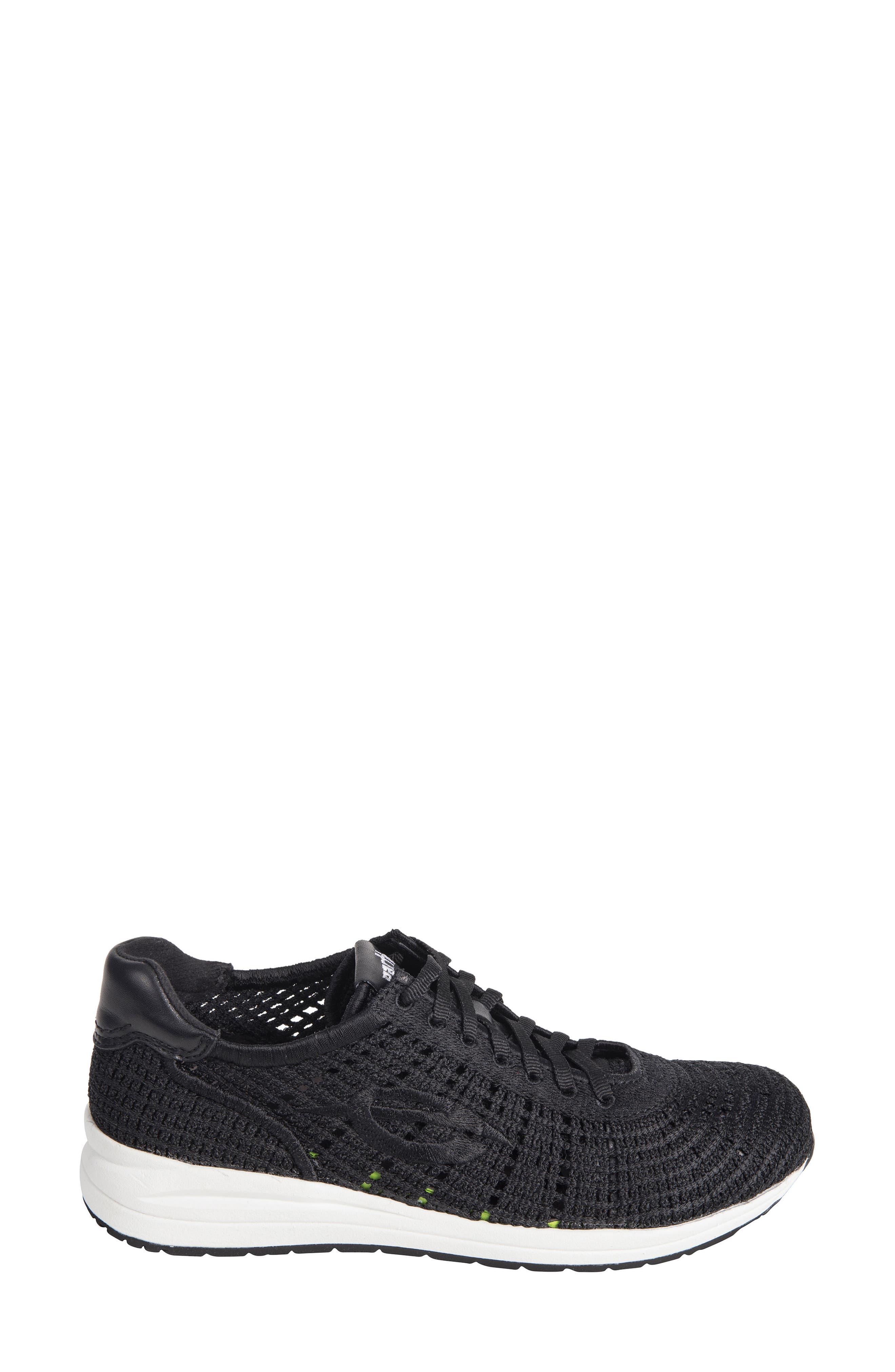 Earth Vital Sneaker,                             Alternate thumbnail 3, color,                             Black