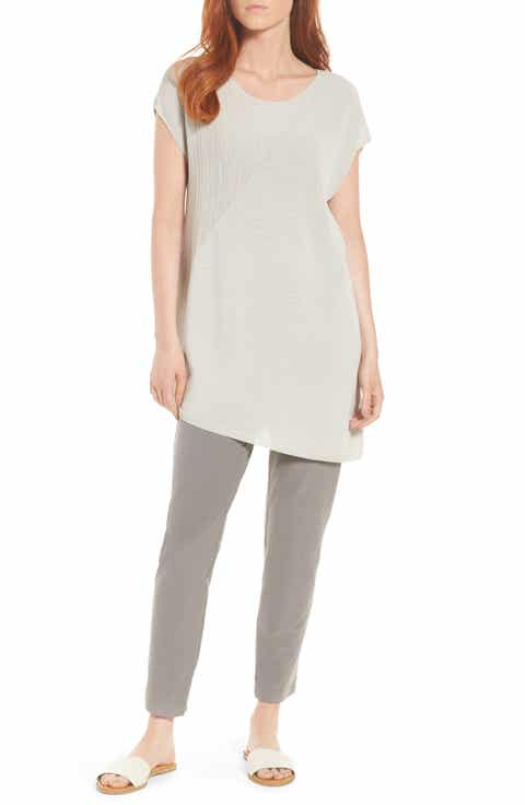 Eileen Fisher Organic Cotton Tunic Top