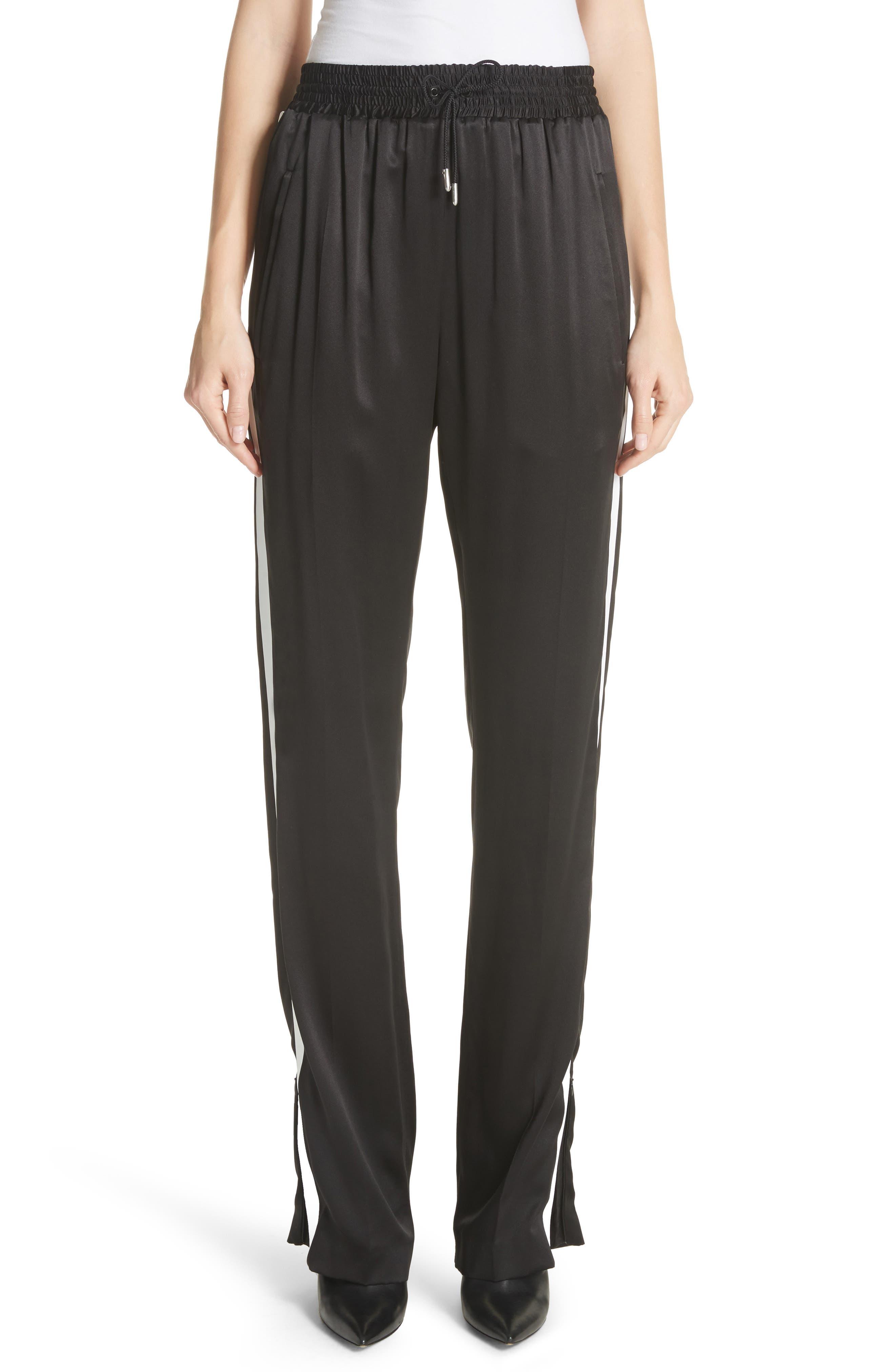 Burberry Tanley Silk Track Pants