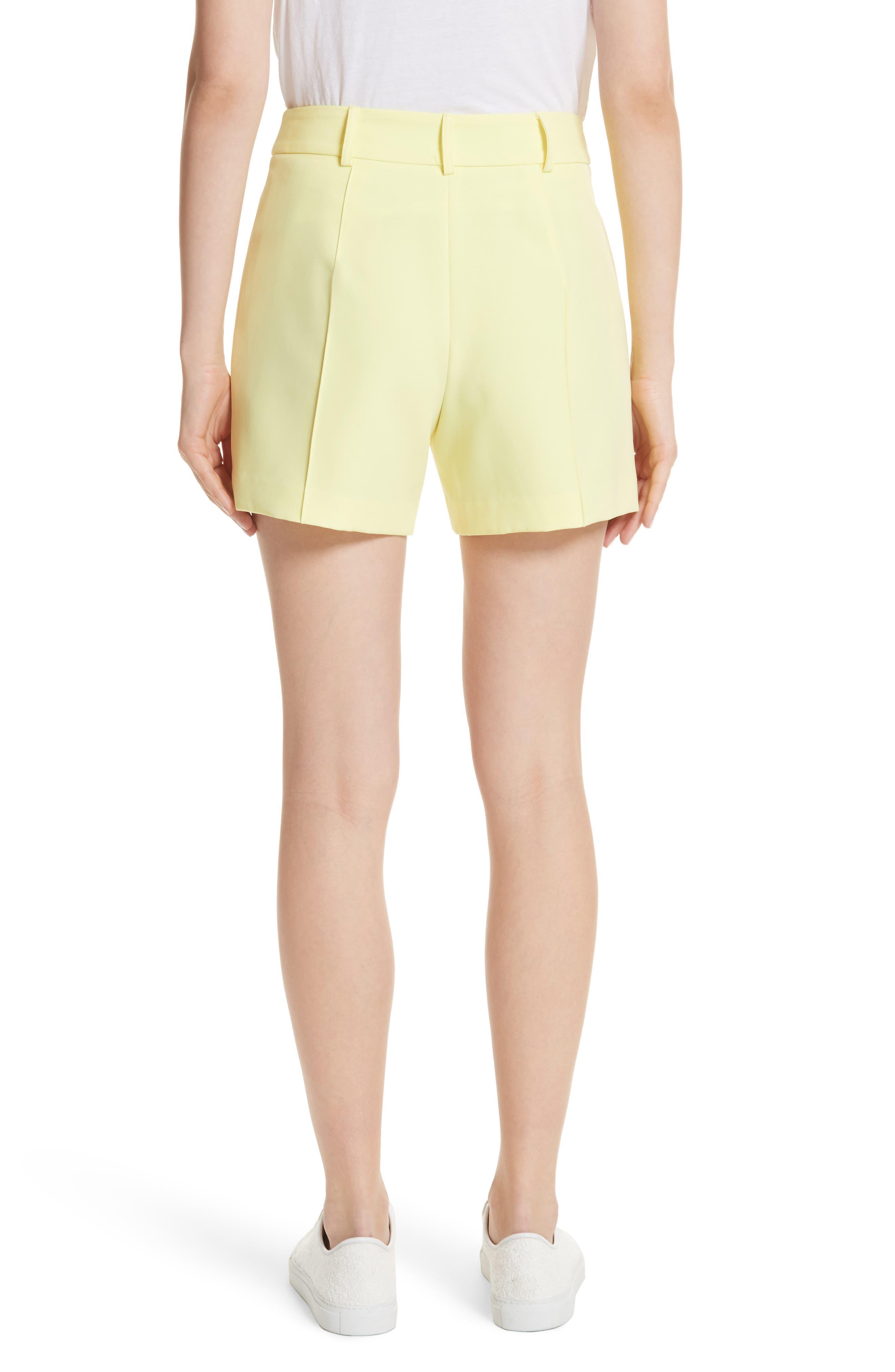 Hayden Trouser Shorts,                             Alternate thumbnail 2, color,                             Lemon Yellow