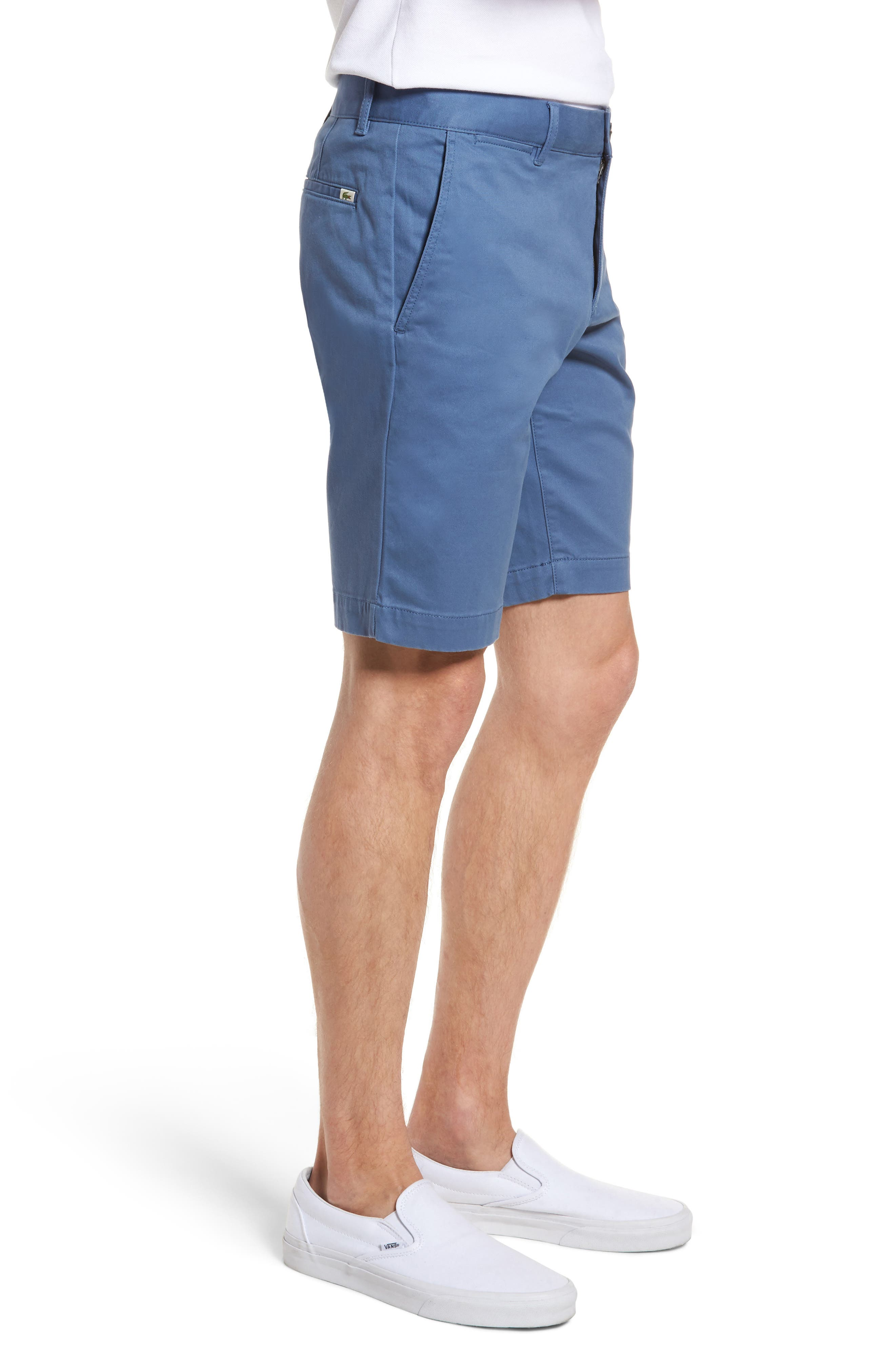 Slim Fit Chino Shorts,                             Alternate thumbnail 3, color,                             King