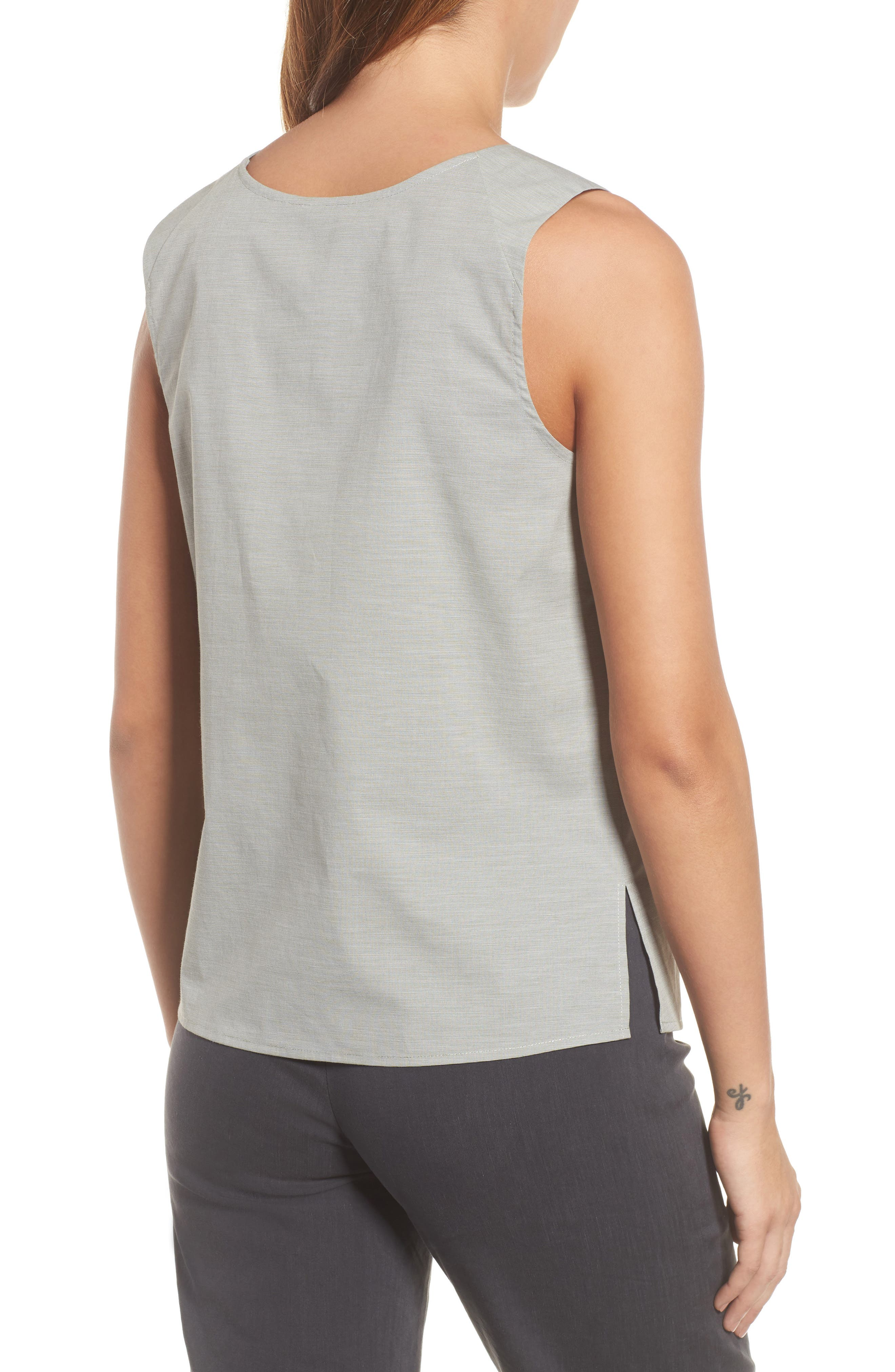 Cypress Embroidered Tank,                             Alternate thumbnail 2, color,                             Spring Moss Mix