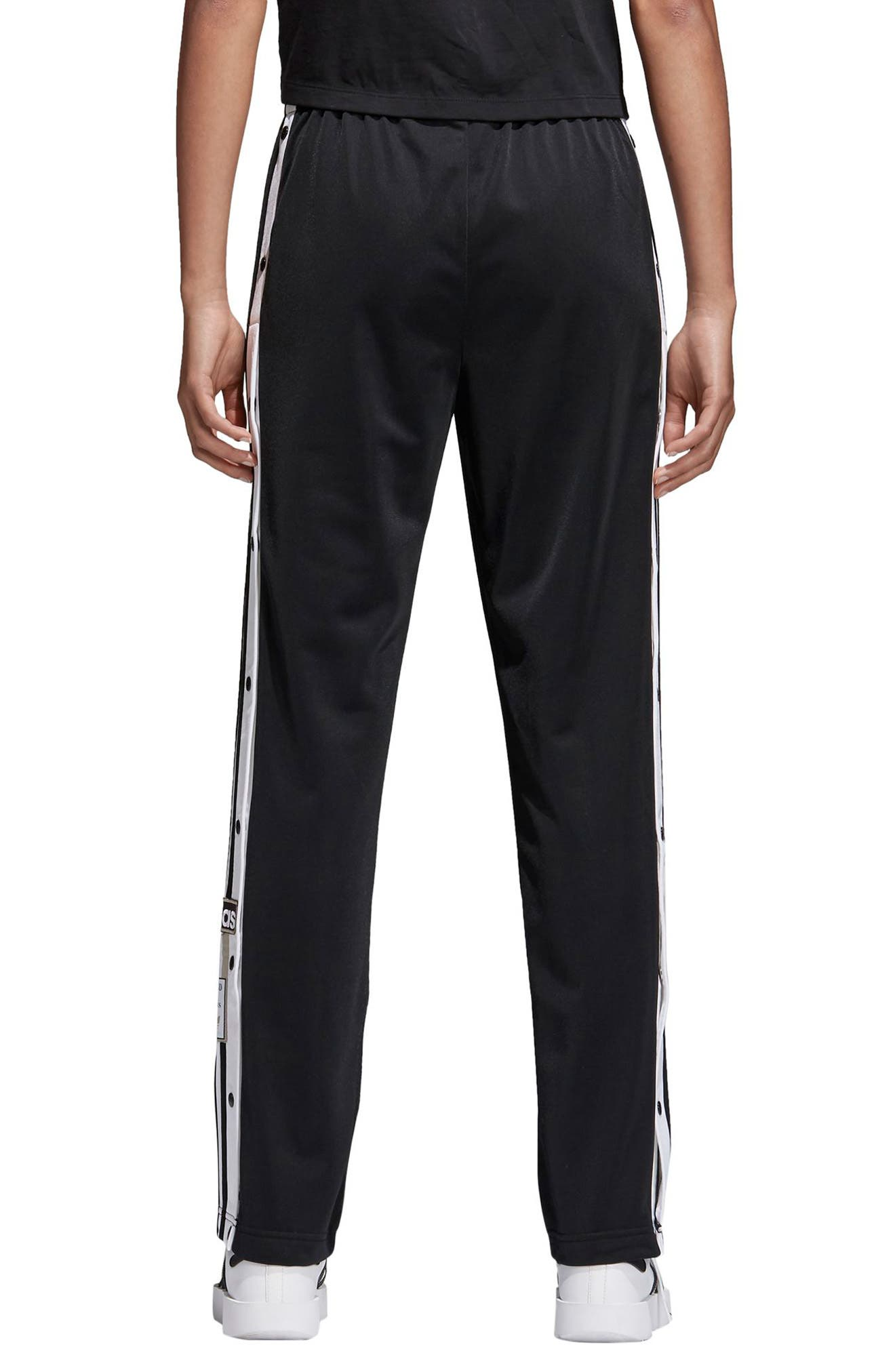 Originals Adibreak Tearaway Track Pants,                             Alternate thumbnail 2, color,                             Black/ Carbon
