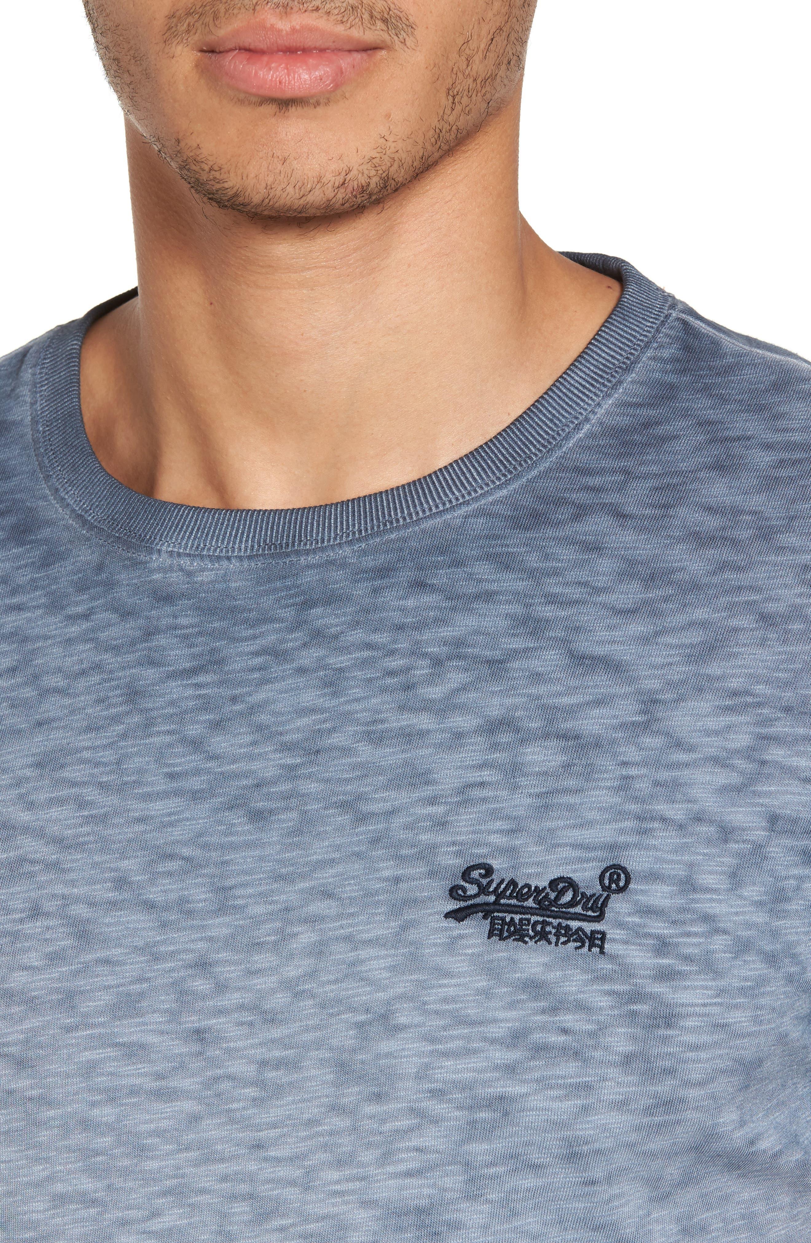 Alternate Image 4  - SuperDry Orange Label Low Roller T-Shirt