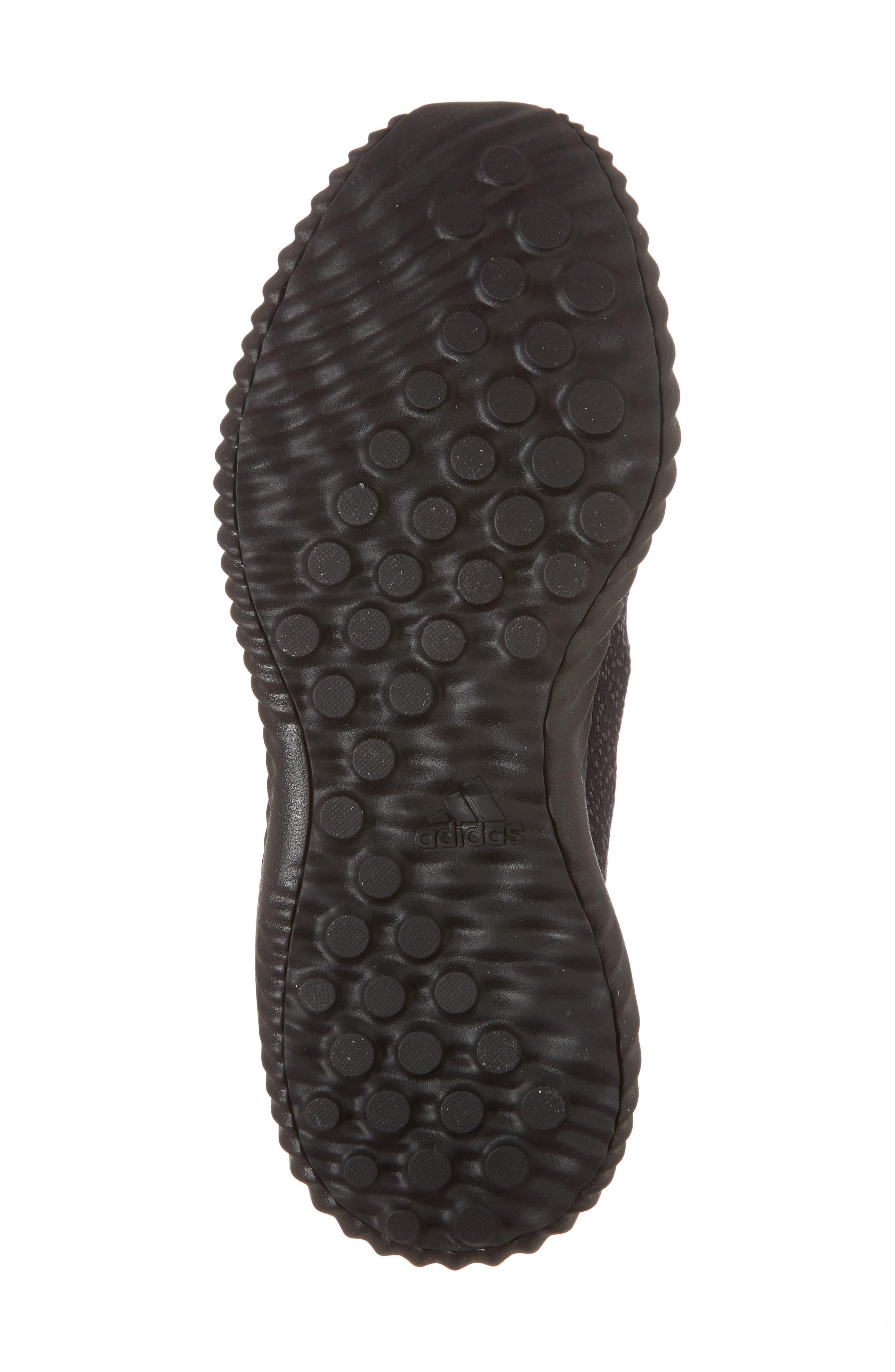 AlphaBounce EM Running Shoe,                             Alternate thumbnail 6, color,                             Core Black/ Trace Grey/ Carbon