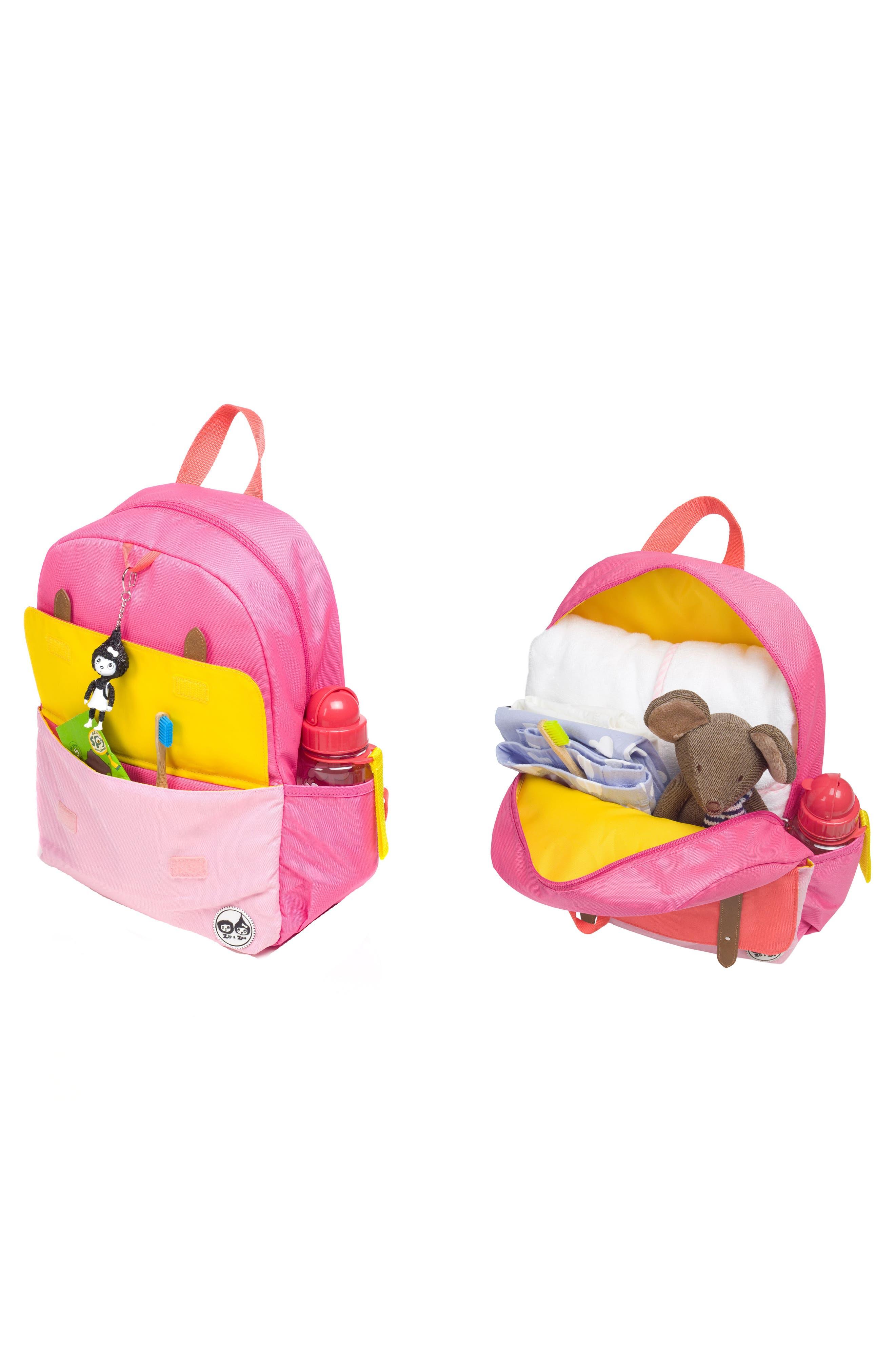 Alternate Image 10  - Babymel Zip & Zoe Colorblock Junior Backpack (Kids)