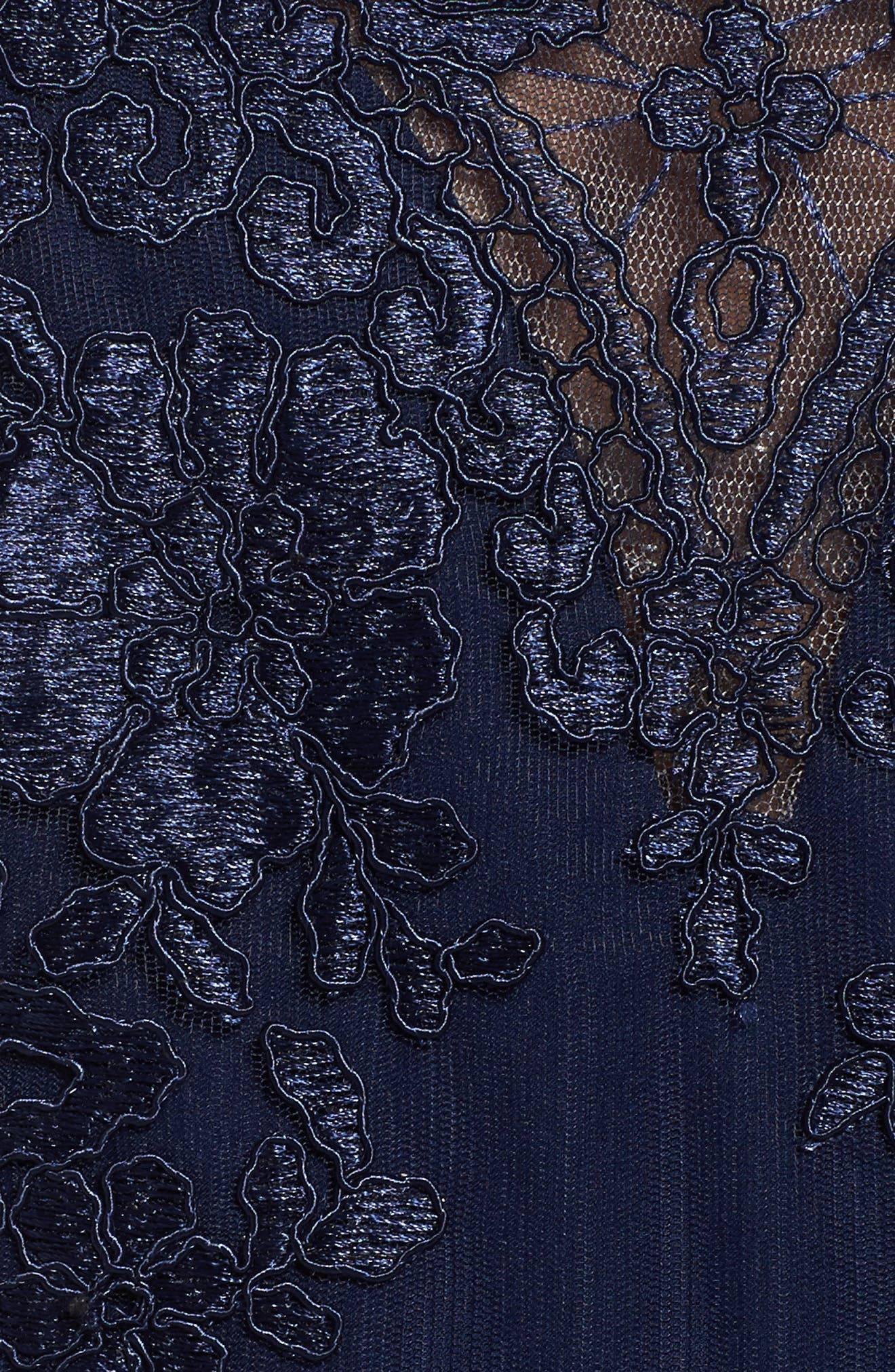 Lace Gown,                             Alternate thumbnail 5, color,                             Navy