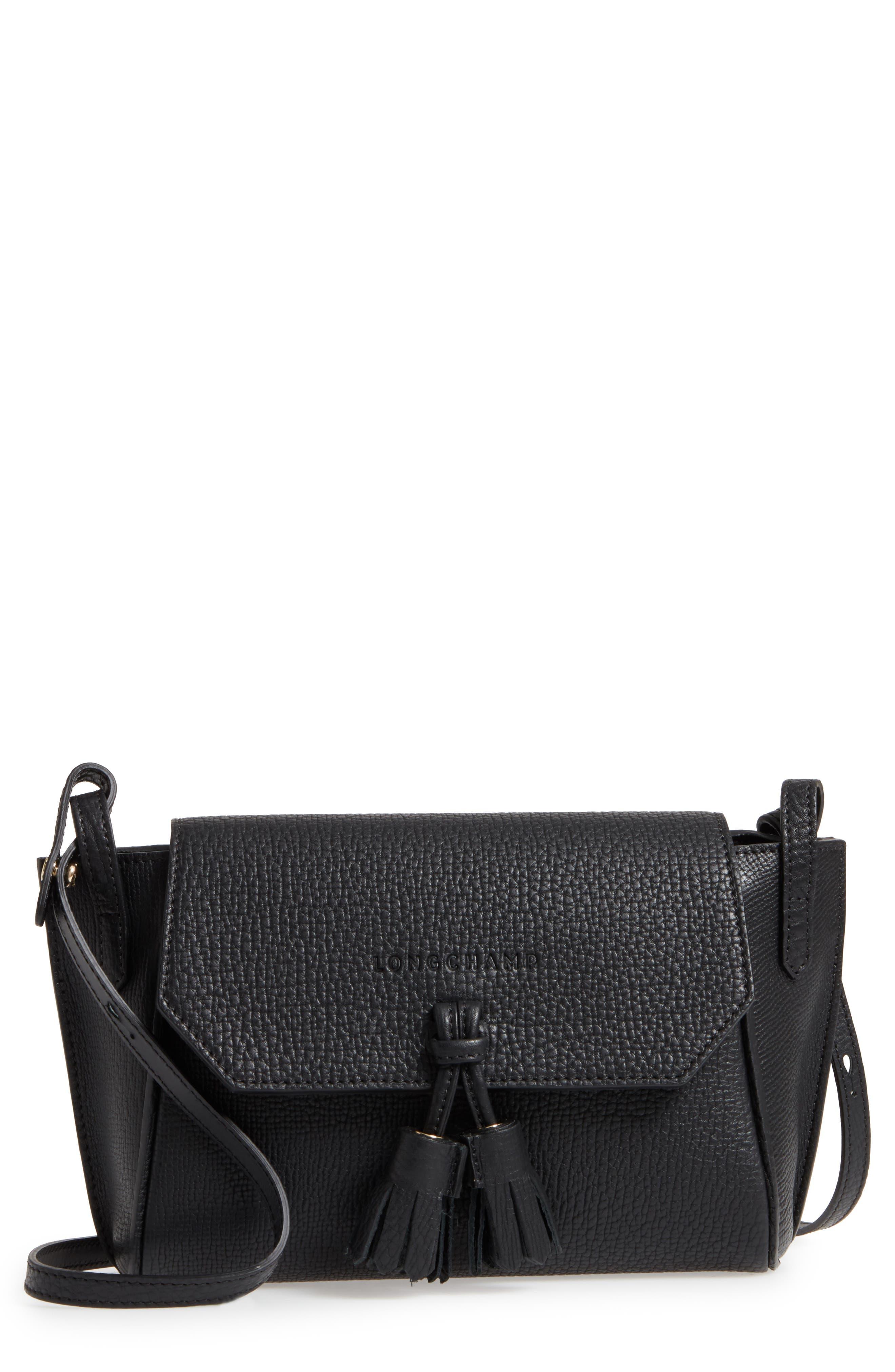 Longchamp Penelope Leather Crossbody Bag