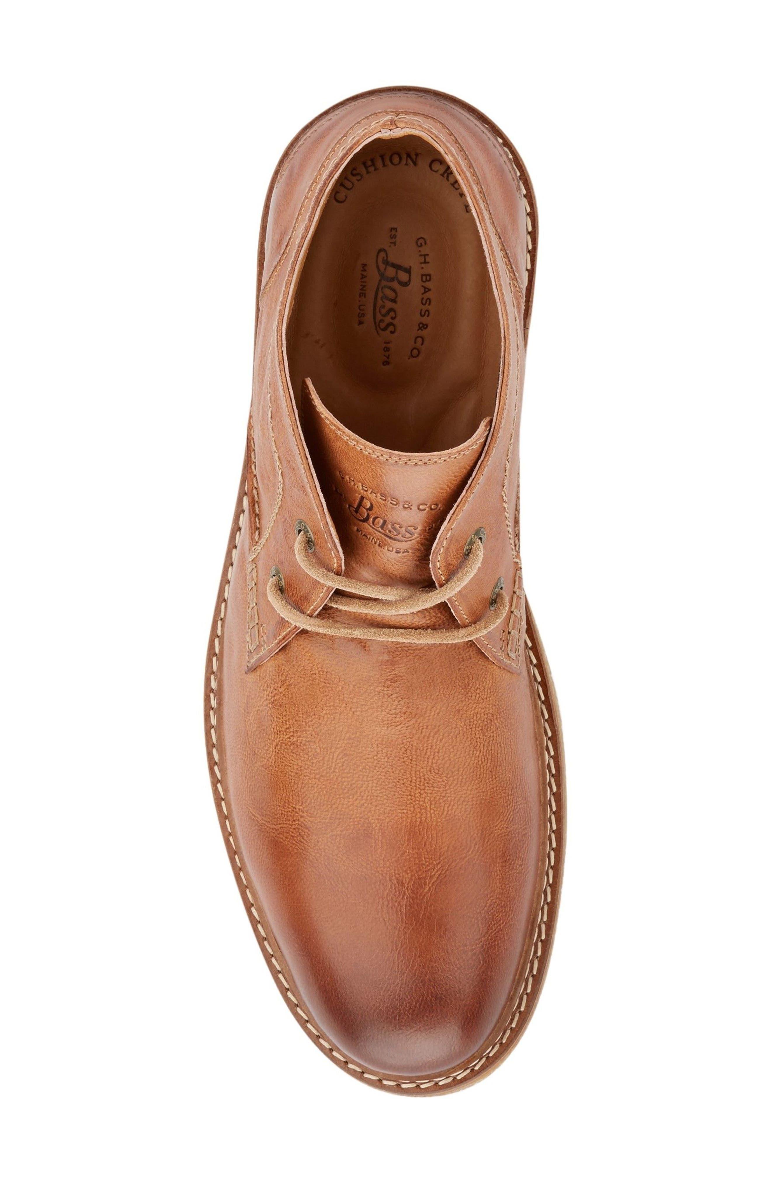 'Bennett' Chukka Boot,                             Alternate thumbnail 5, color,                             Tan Leather