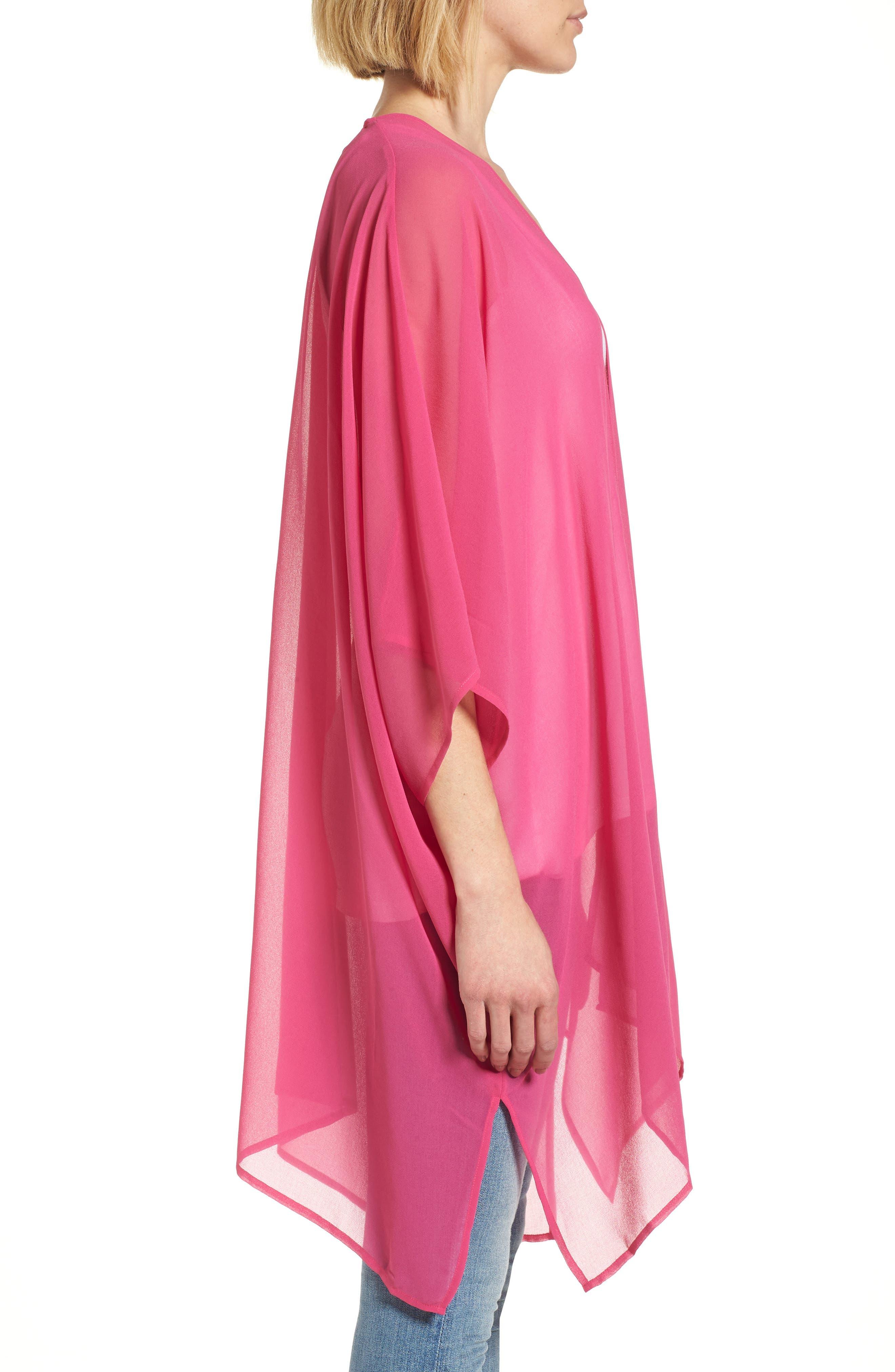 Alternate Image 3  - Nordstrom Chiffon Cover-Up Kimono