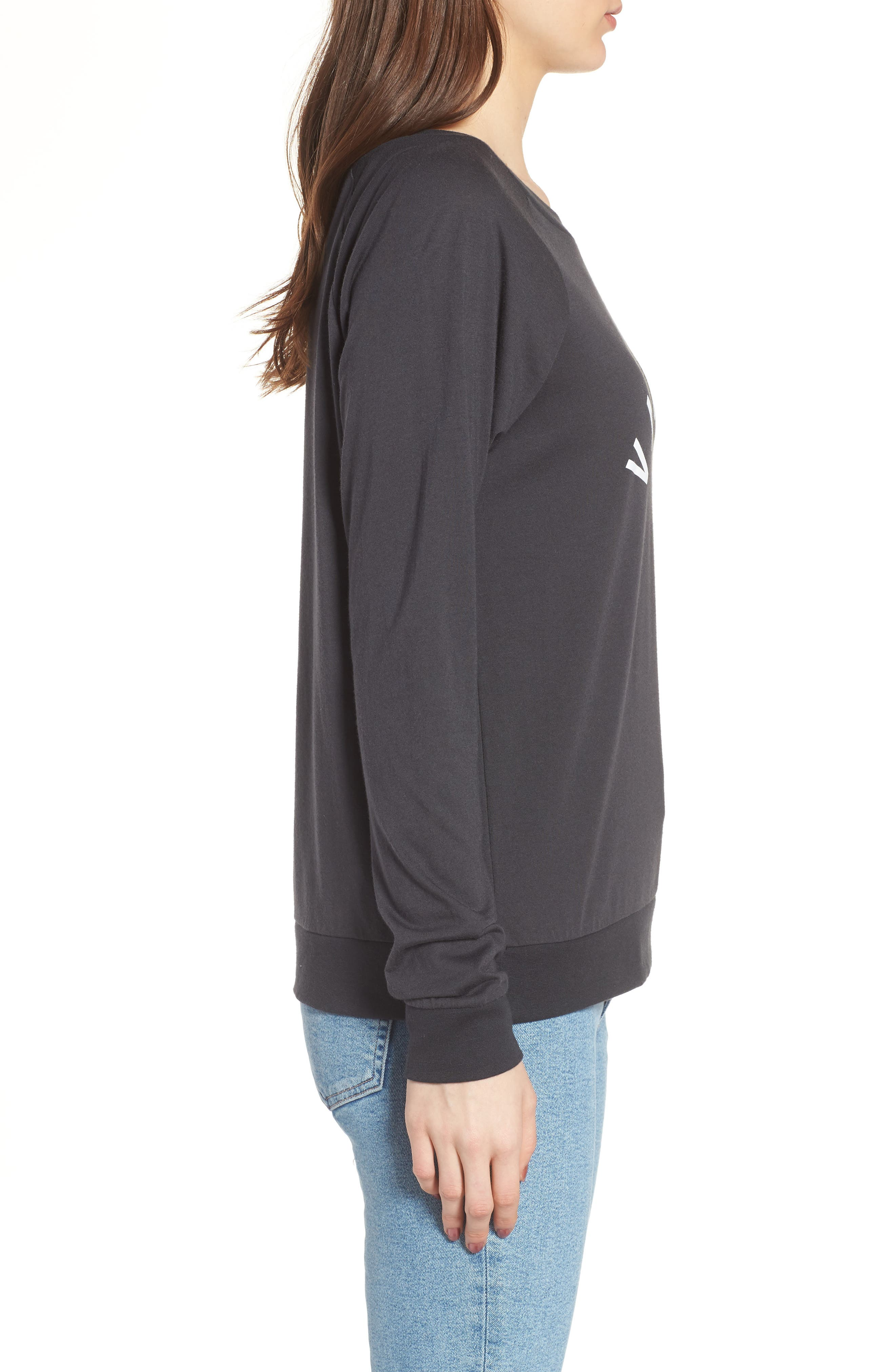 Candy - Vacation Pullover,                             Alternate thumbnail 3, color,                             Black