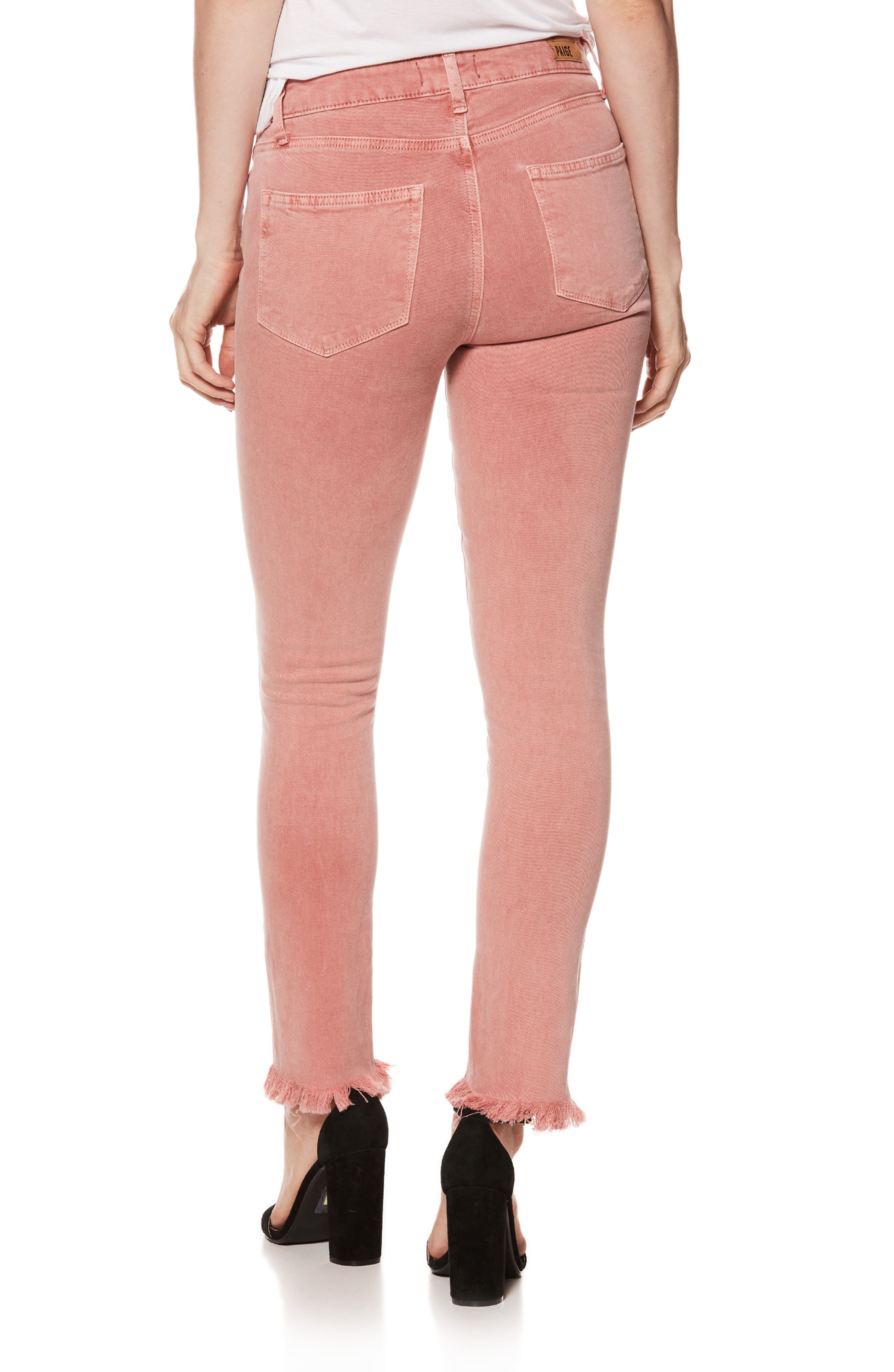 Alternate Image 3  - PAIGE Hoxton High Waist Ankle Skinny Jeans