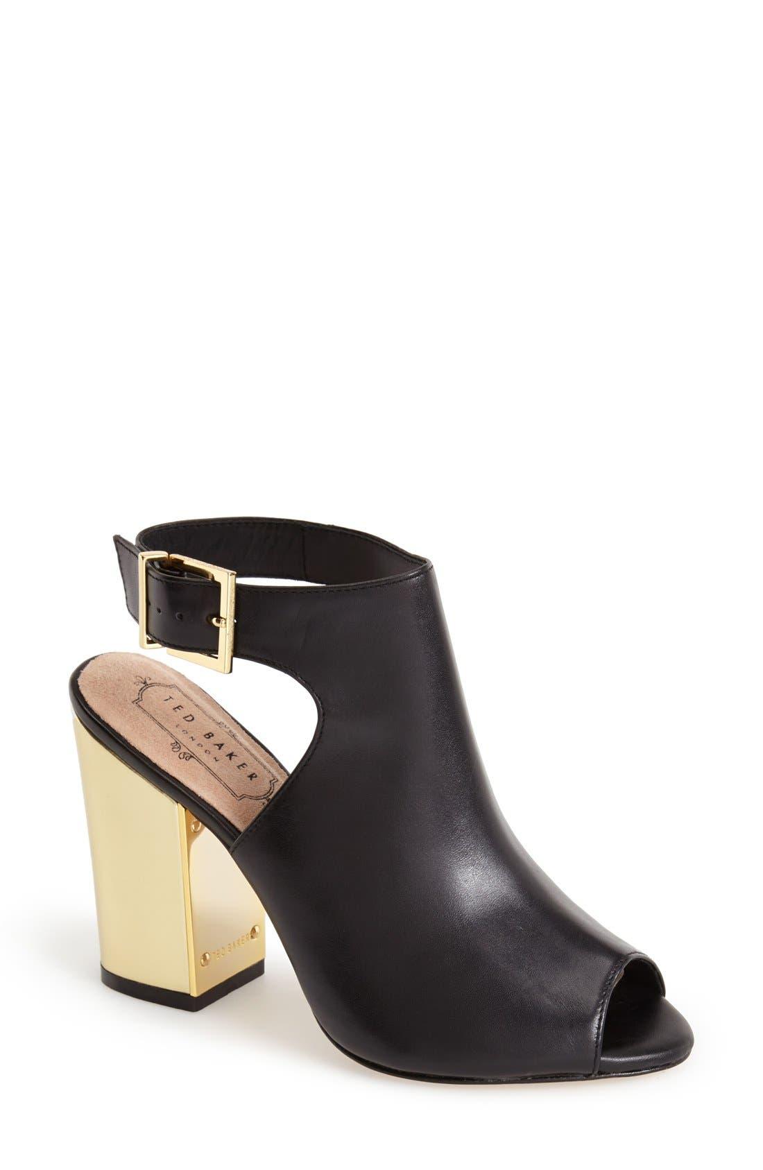 Alternate Image 1 Selected - Ted Baker London 'Montagny' Leather Sandal (Women)