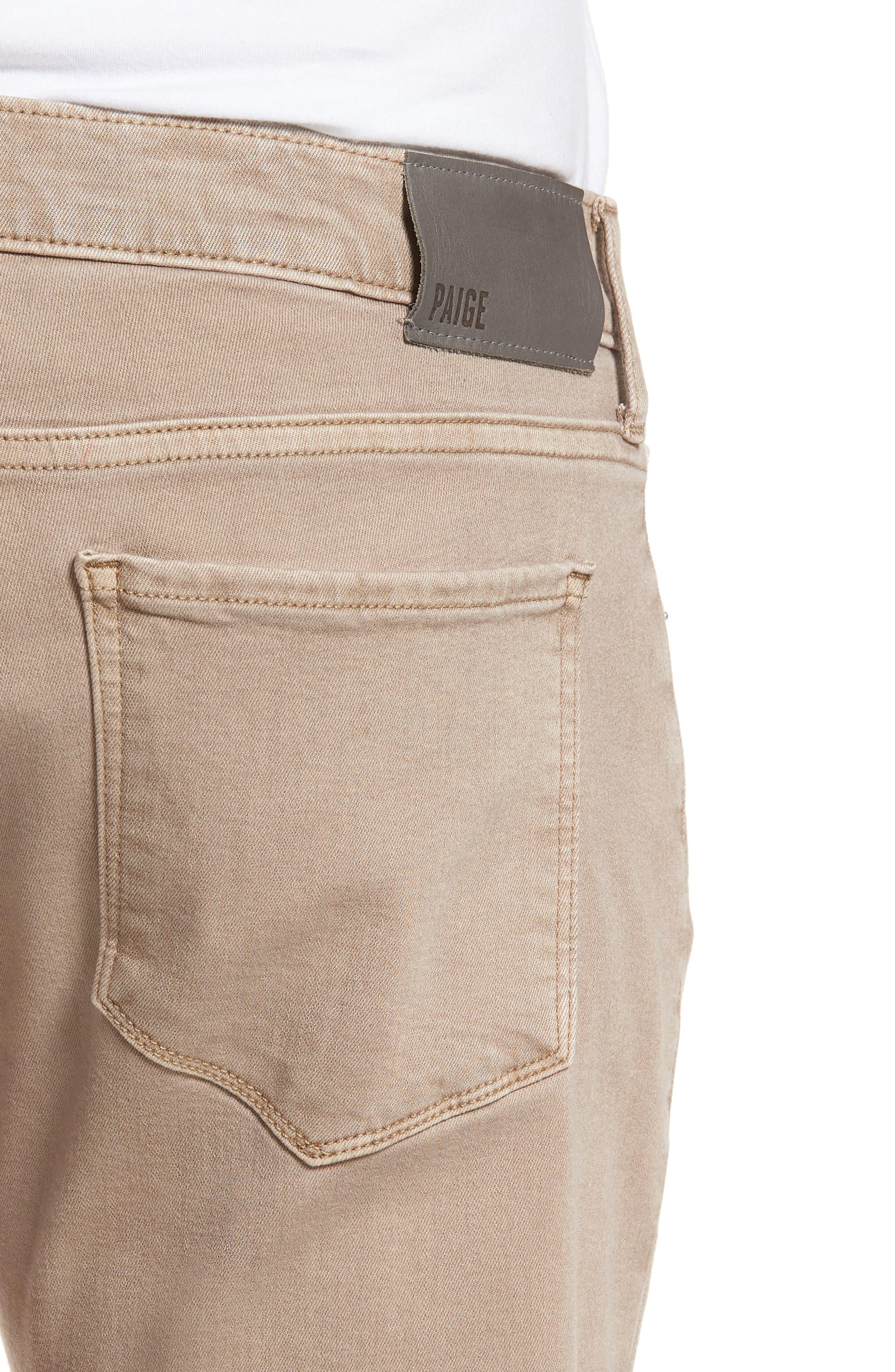 Federal Slim Straight Leg Jeans,                             Alternate thumbnail 4, color,                             Vintage Dune