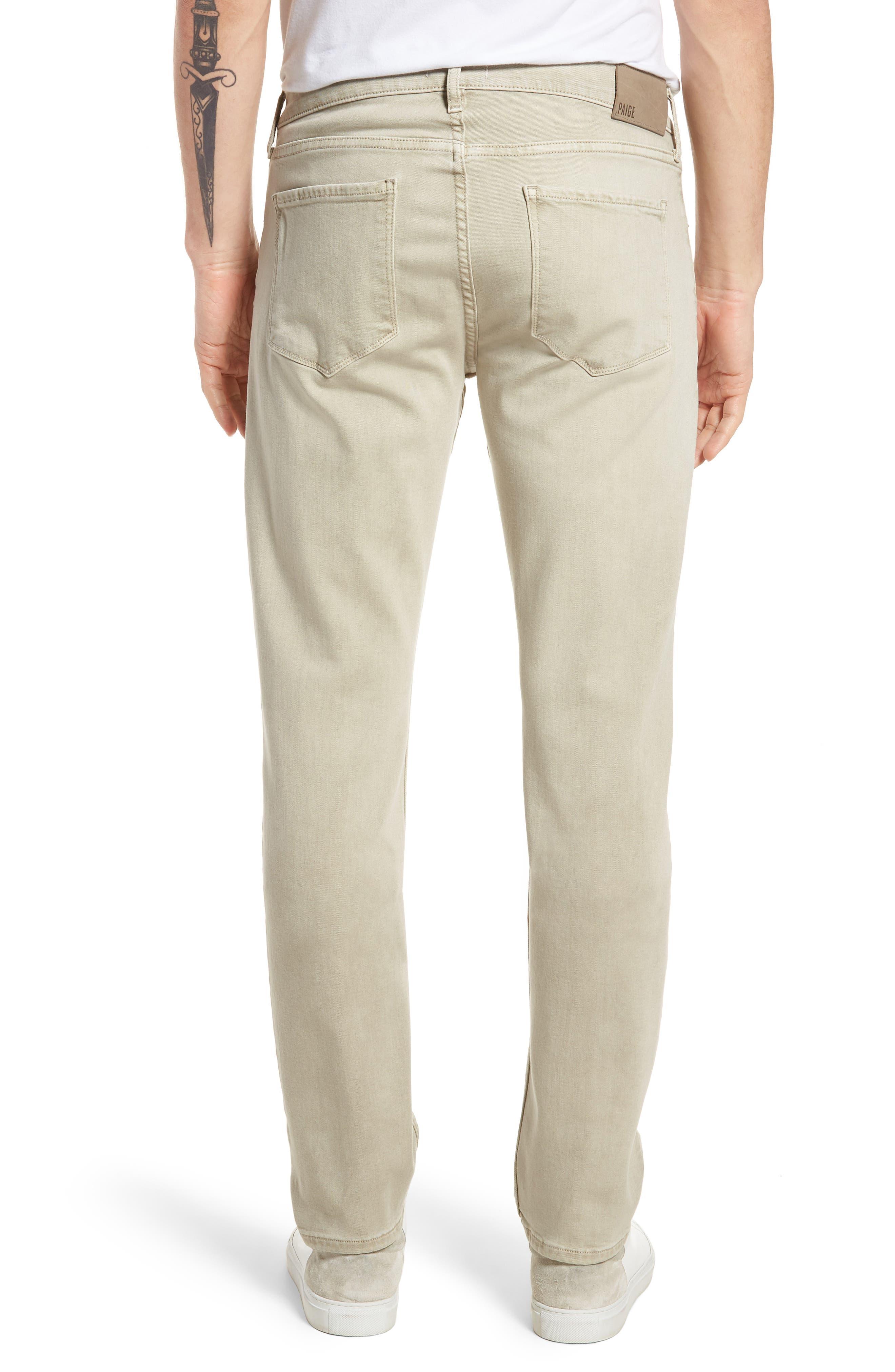 Federal Slim Straight Leg Jeans,                             Alternate thumbnail 2, color,                             Vintage Pebble