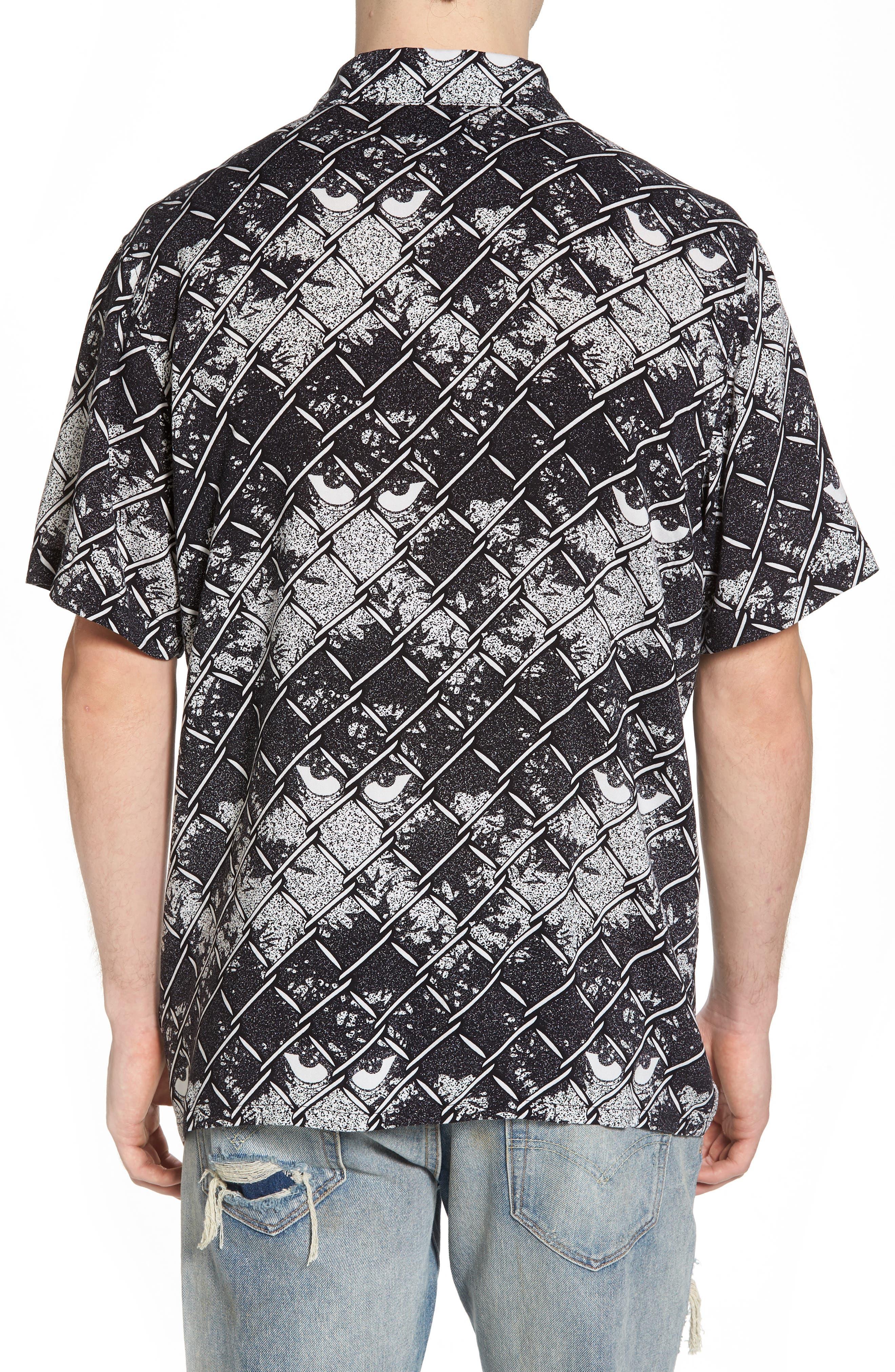 Gatekeeper Short Sleeve Shirt,                             Alternate thumbnail 2, color,                             Black Multi