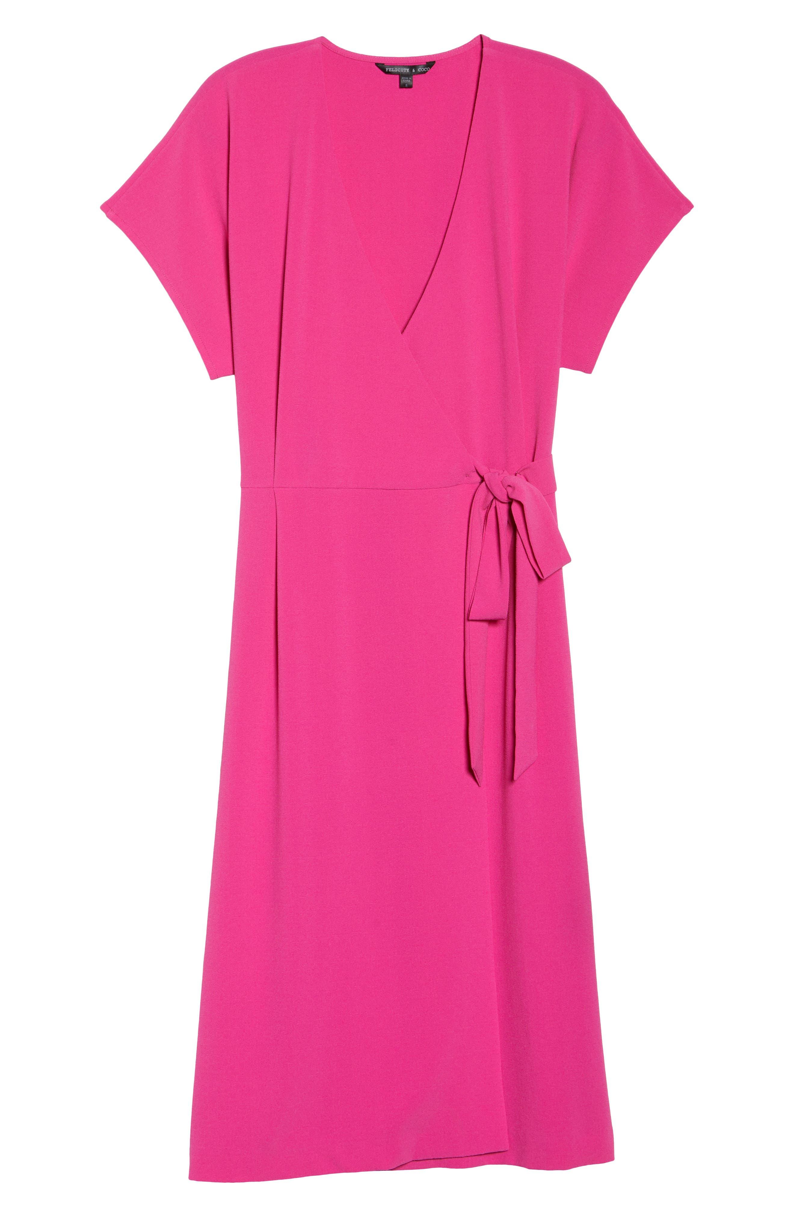 Alternate Image 6  - Felicity & Coco Rita Wrap Dress (Regular & Petite) (Nordstrom Exclusive)