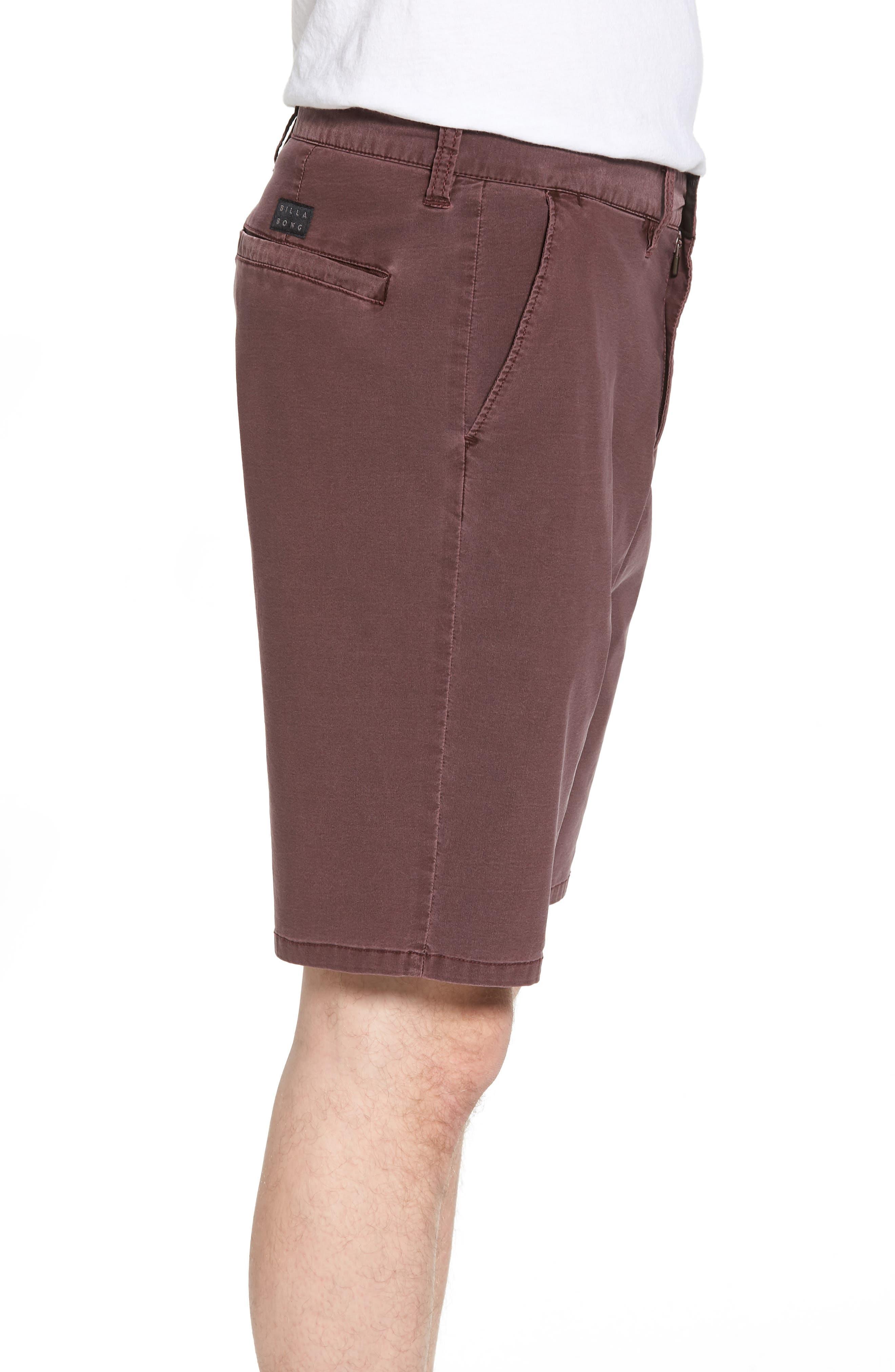 New Order X Overdye Hybrid Shorts,                             Alternate thumbnail 3, color,                             Rum