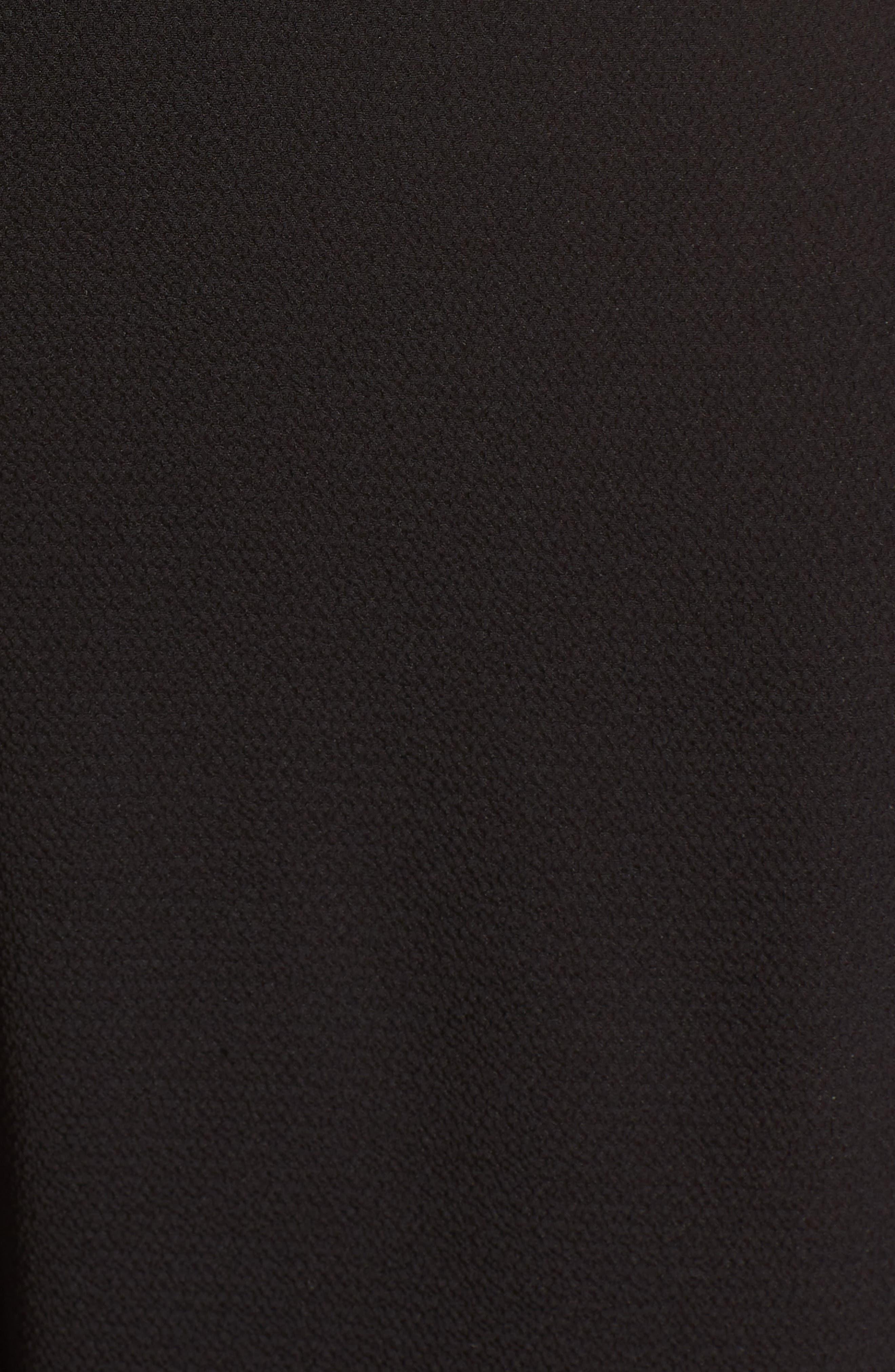 Posie Lace-Up Jumpsuit,                             Alternate thumbnail 6, color,                             Black