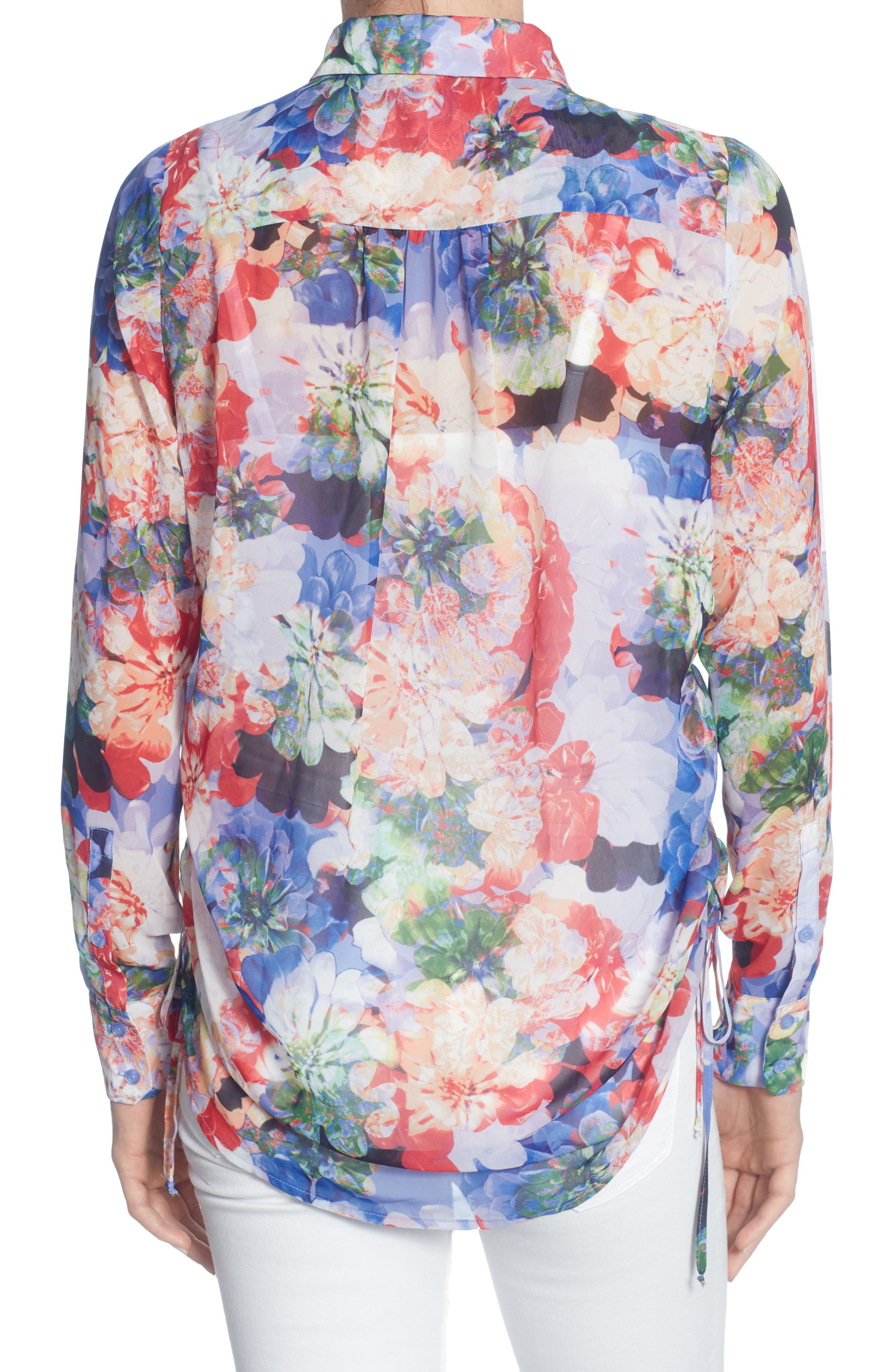 Spencer Blouse,                             Alternate thumbnail 2, color,                             Spring Blooms