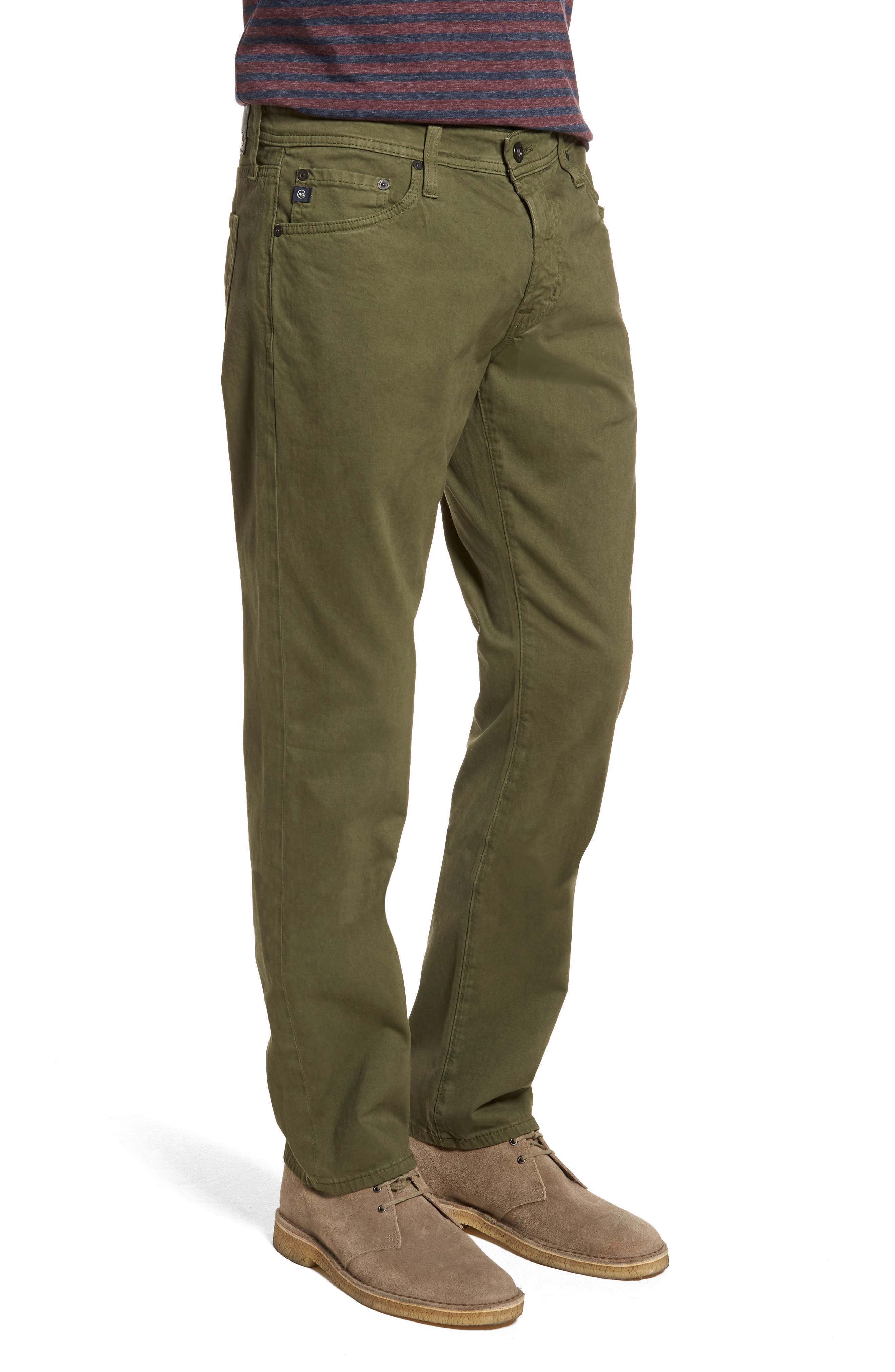 Alternate Image 3  - AG Graduate SUD Slim Straight Leg Pants