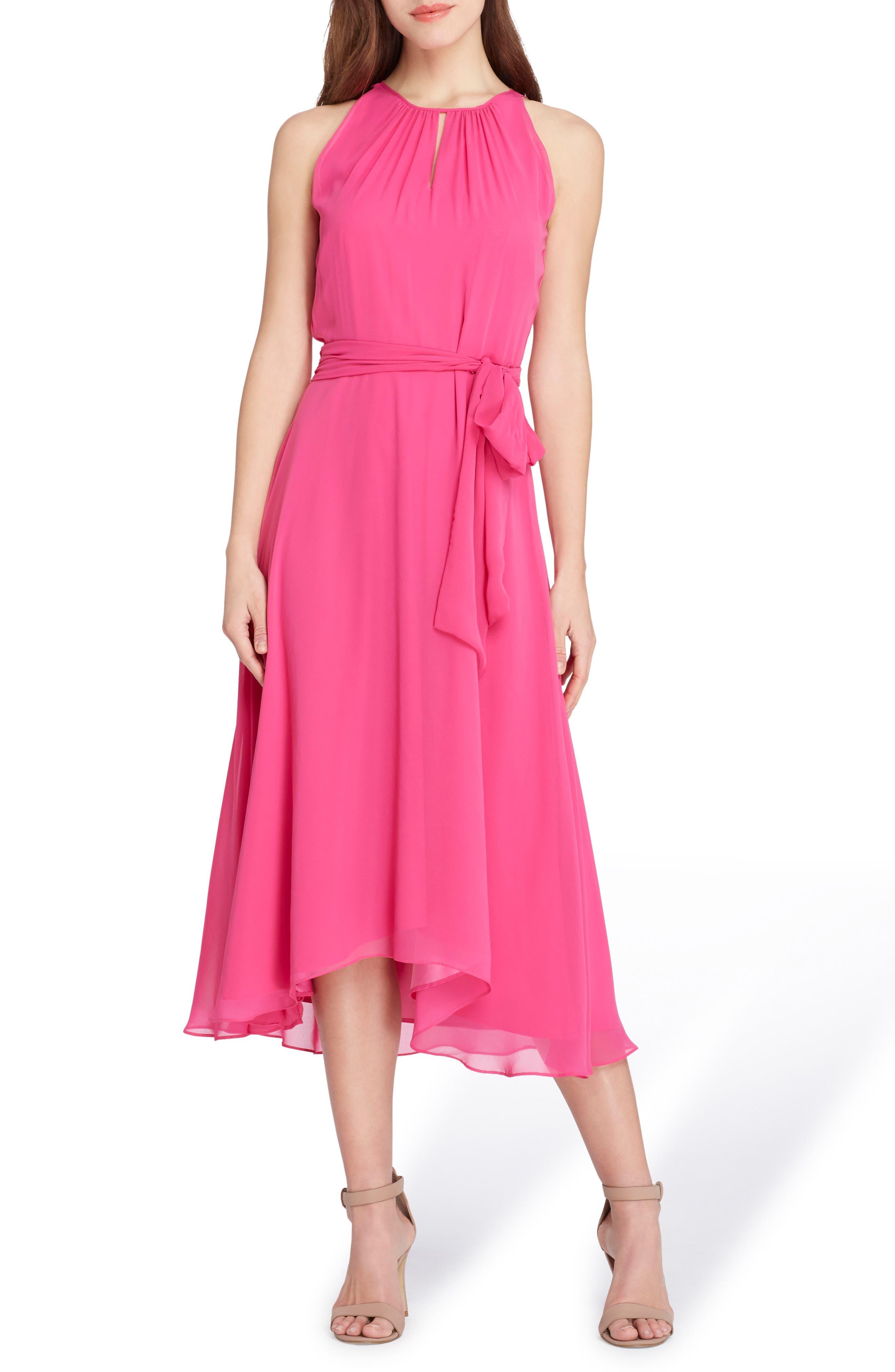 Tahari Midi Fit & Flare Dress (Petite)