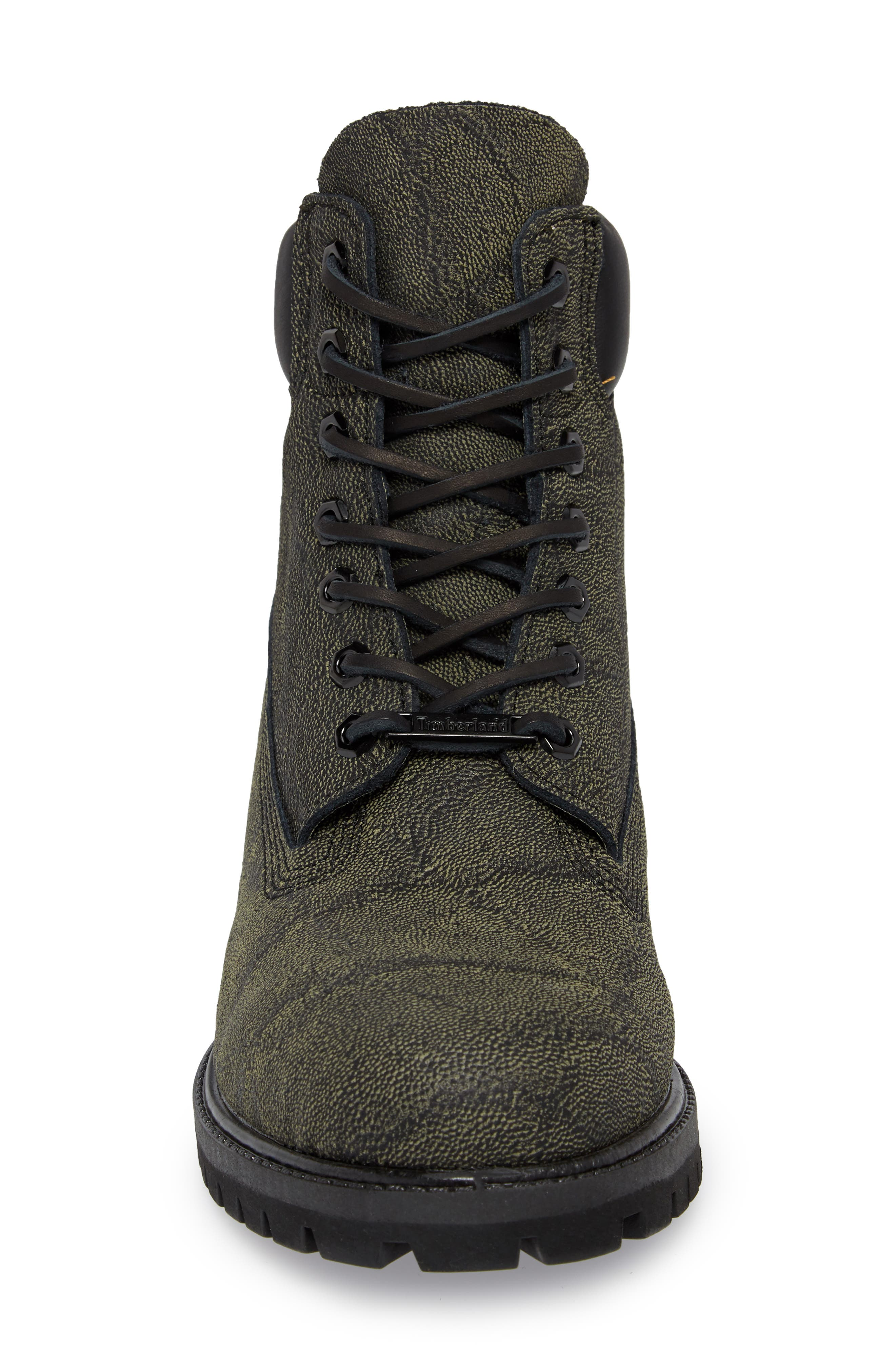 Premium Mammoth Waterproof PrimaLoft<sup>®</sup> Insulated Boot,                             Alternate thumbnail 4, color,                             Black/ Helcor
