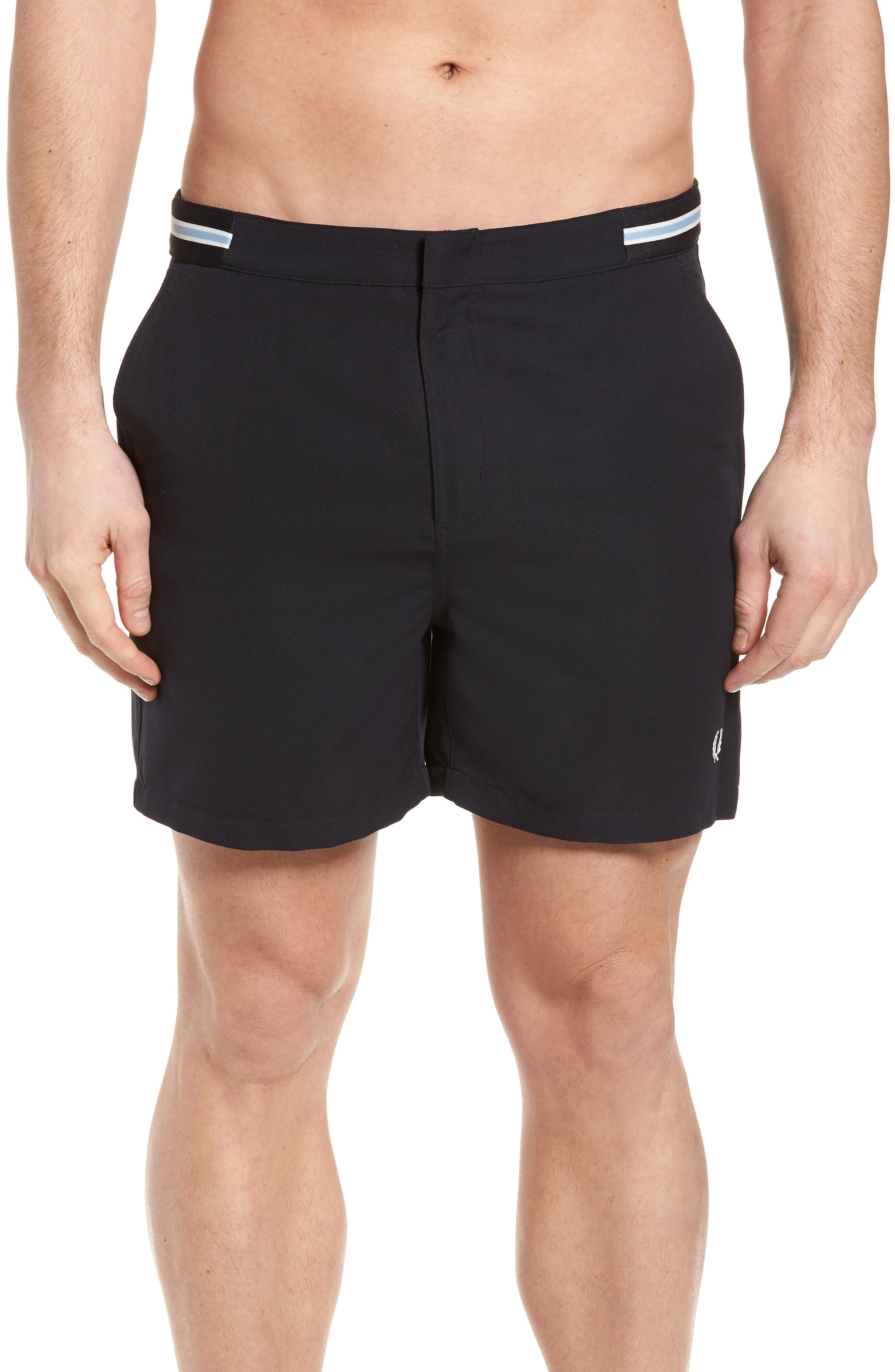 Fred Perry Tape Swim Shorts