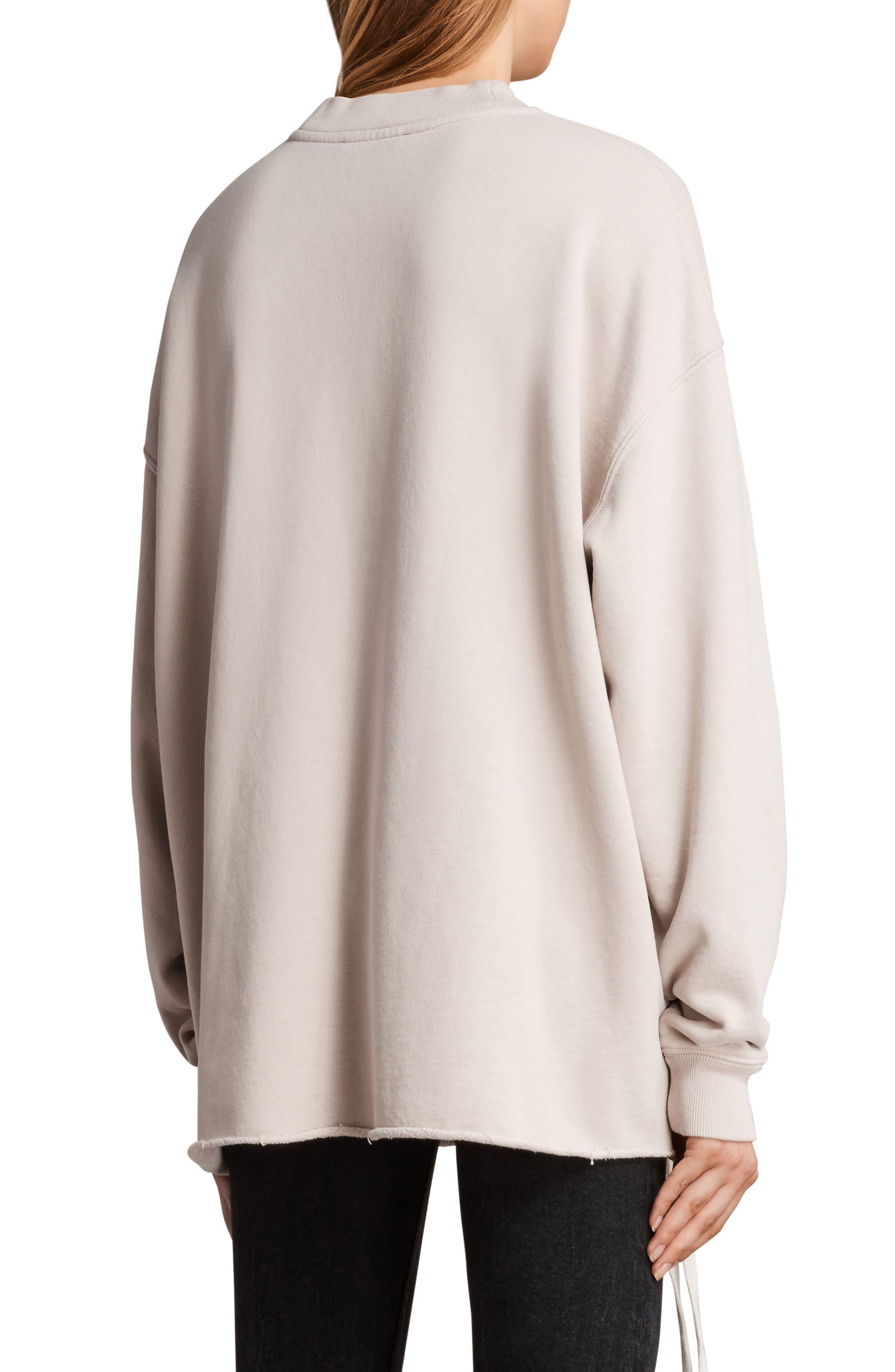 Able Sweatshirt,                             Alternate thumbnail 2, color,                             Quartz Pink