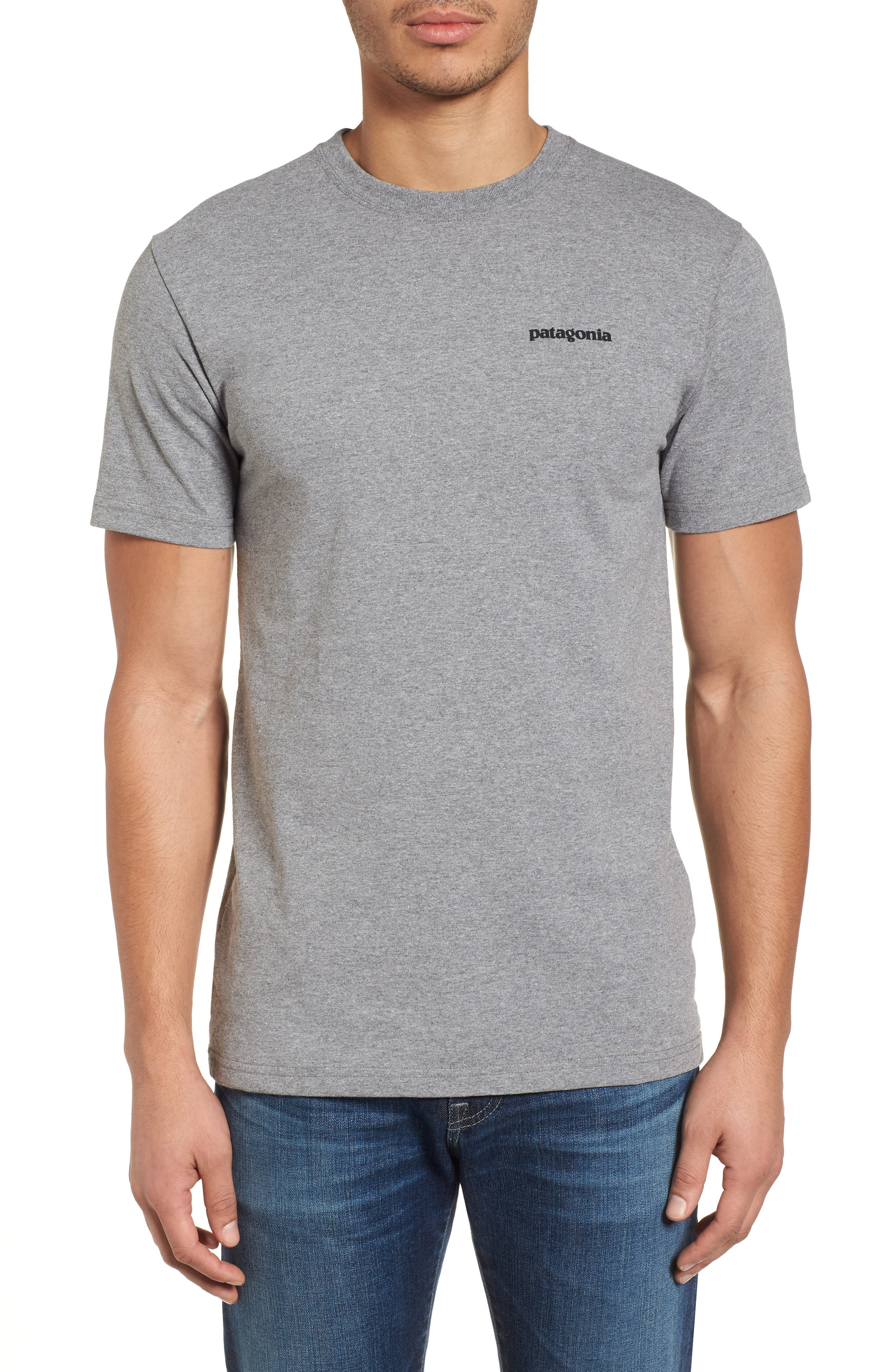 Glacier View Rising Responsibili-Tee T-Shirt,                         Main,                         color, Gravel Hunter