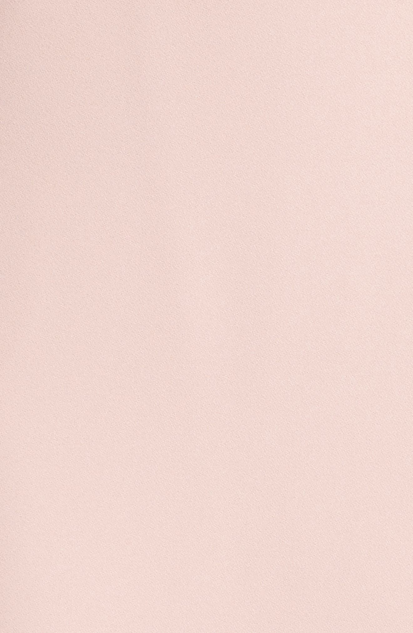Sleeveless Midi Dress,                             Alternate thumbnail 5, color,                             Blush