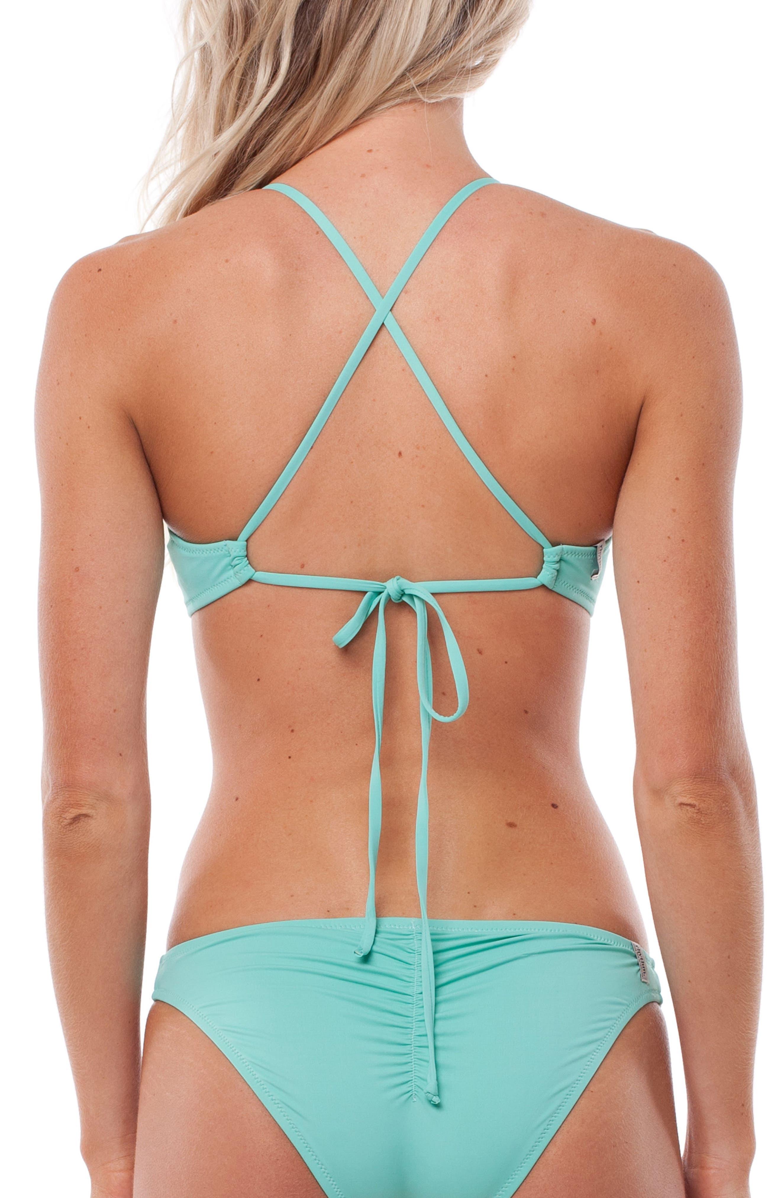 My Surf Bikini Top,                             Alternate thumbnail 2, color,                             Aruba