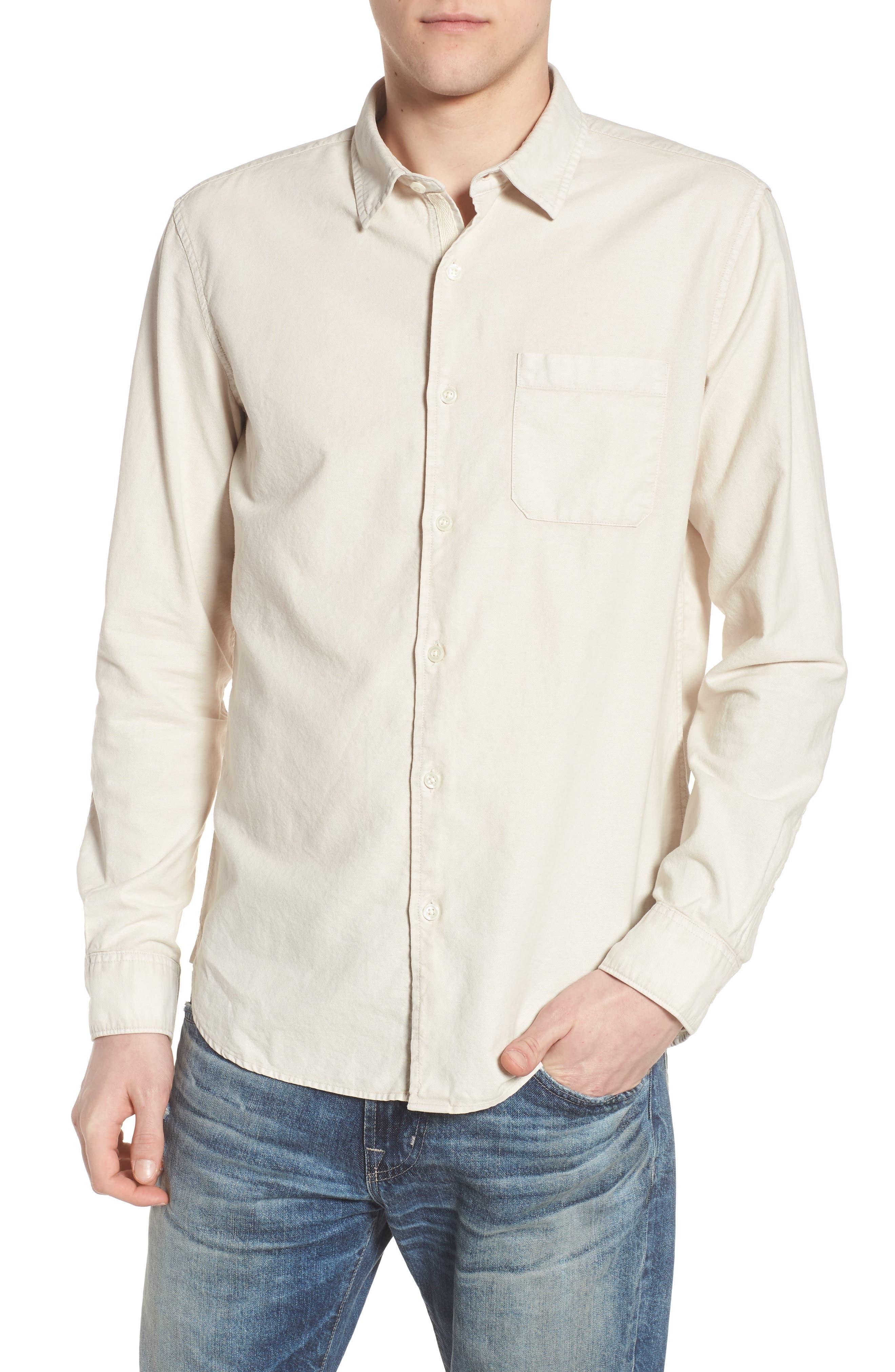 Bristol Slim Fit Sport Shirt,                             Main thumbnail 1, color,                             Sunbaked Mineral Veil