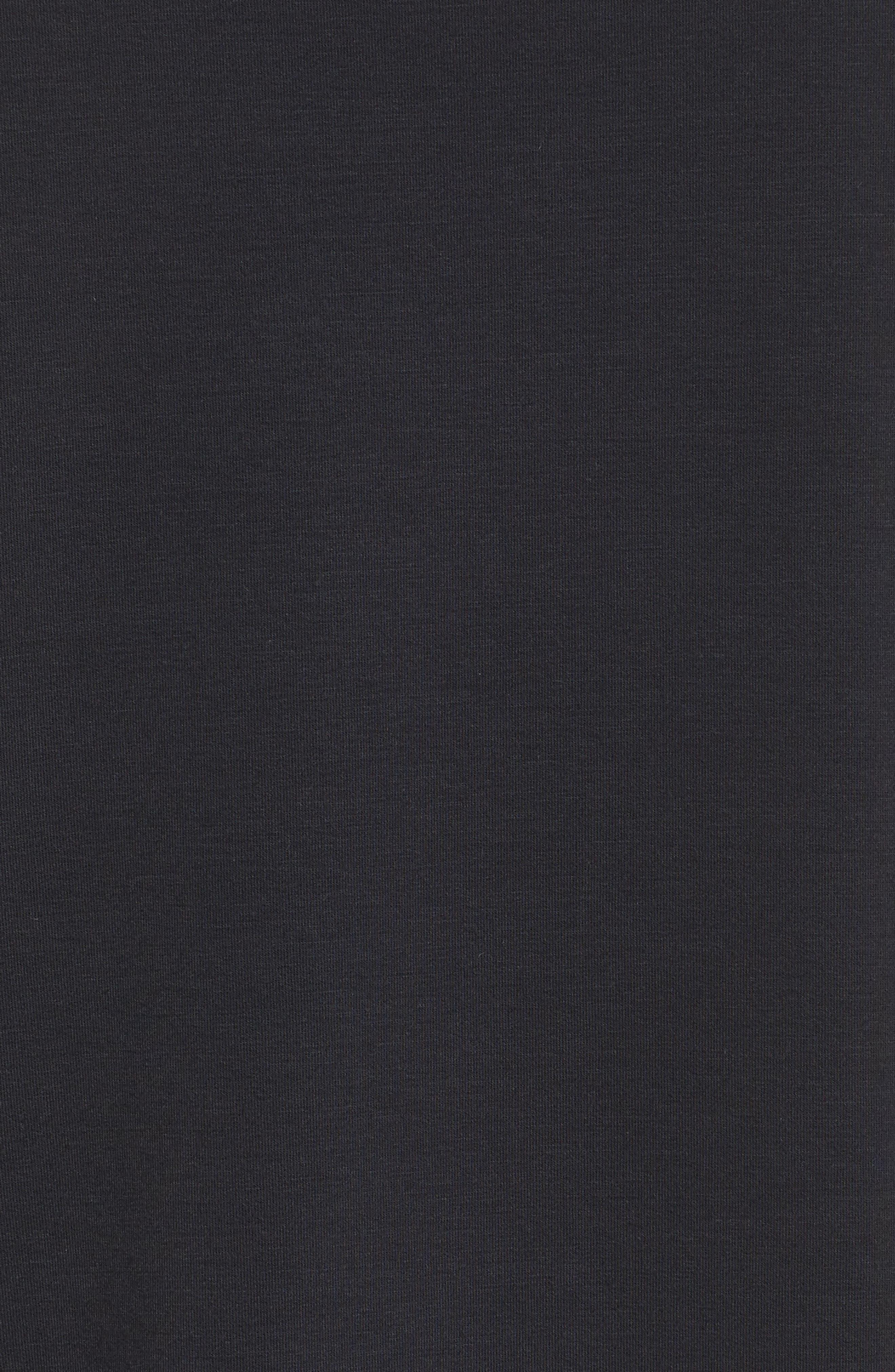 Court Dri-FIT Long Sleeve Tennis Top,                             Alternate thumbnail 6, color,                             Black/ White