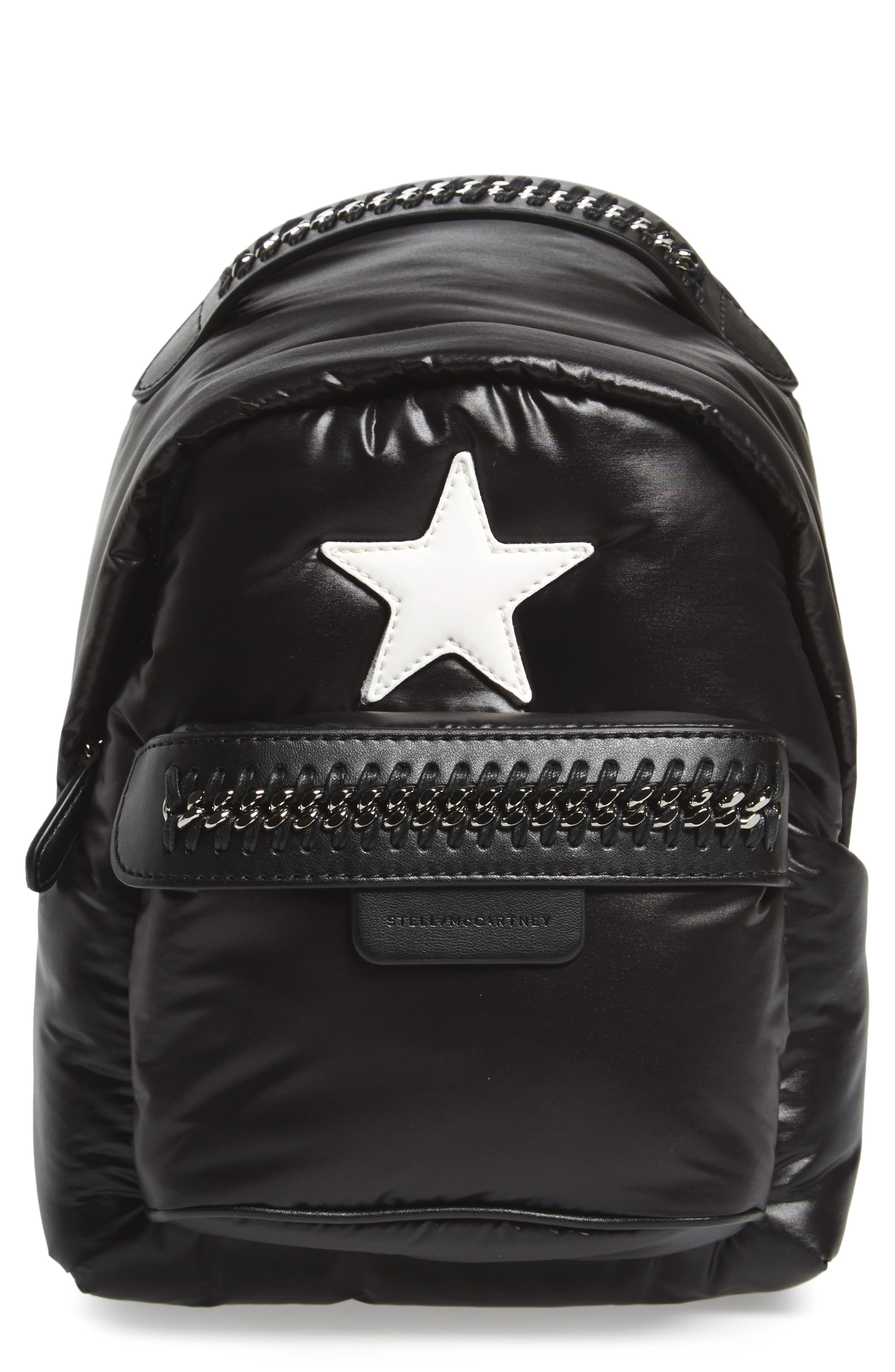 Main Image - Stella McCartney Mini Falabella Go Star Backpack