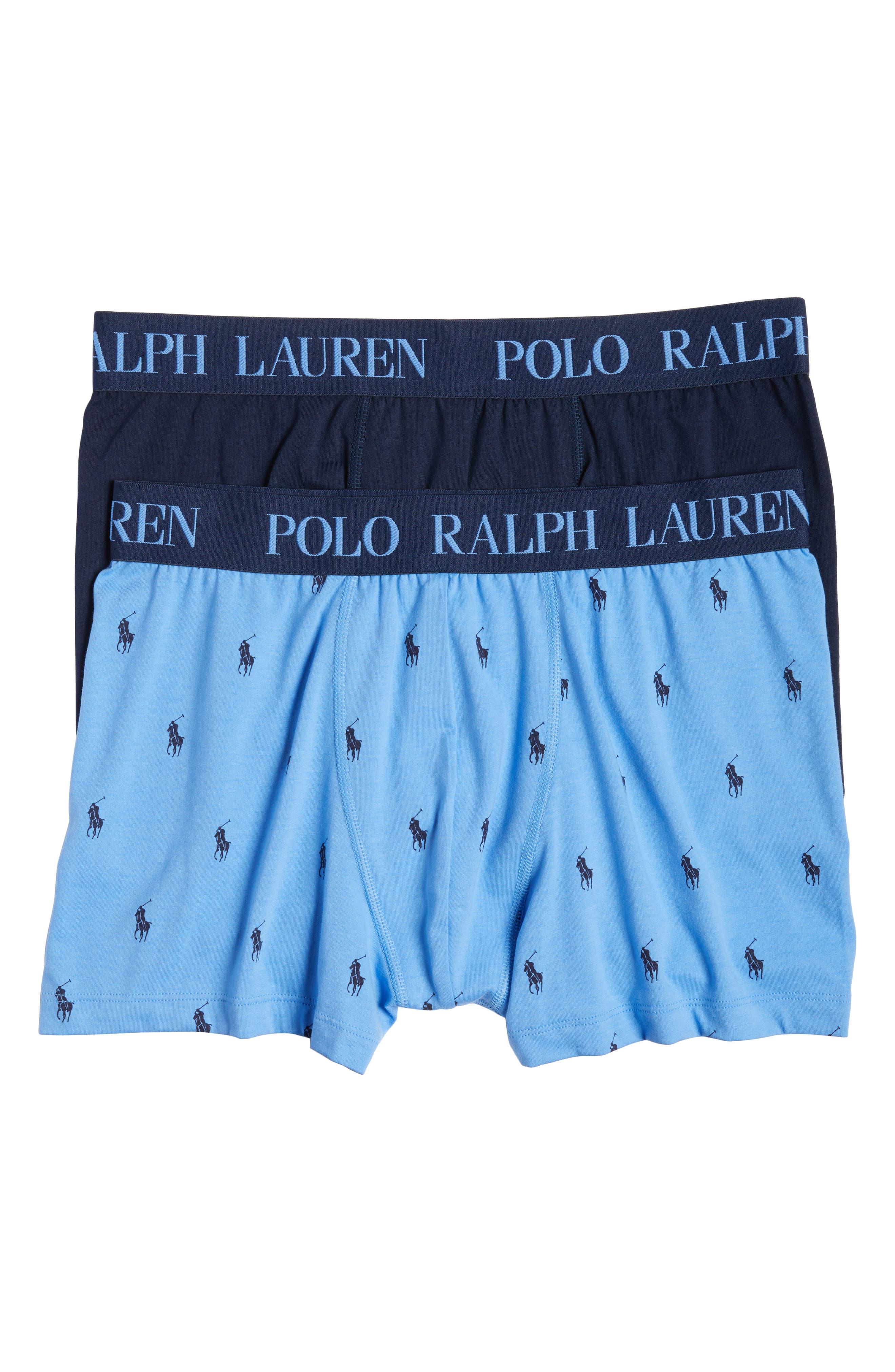 Polo Ralph Lauren 2-Pack Comfort Cotton Boxer Briefs