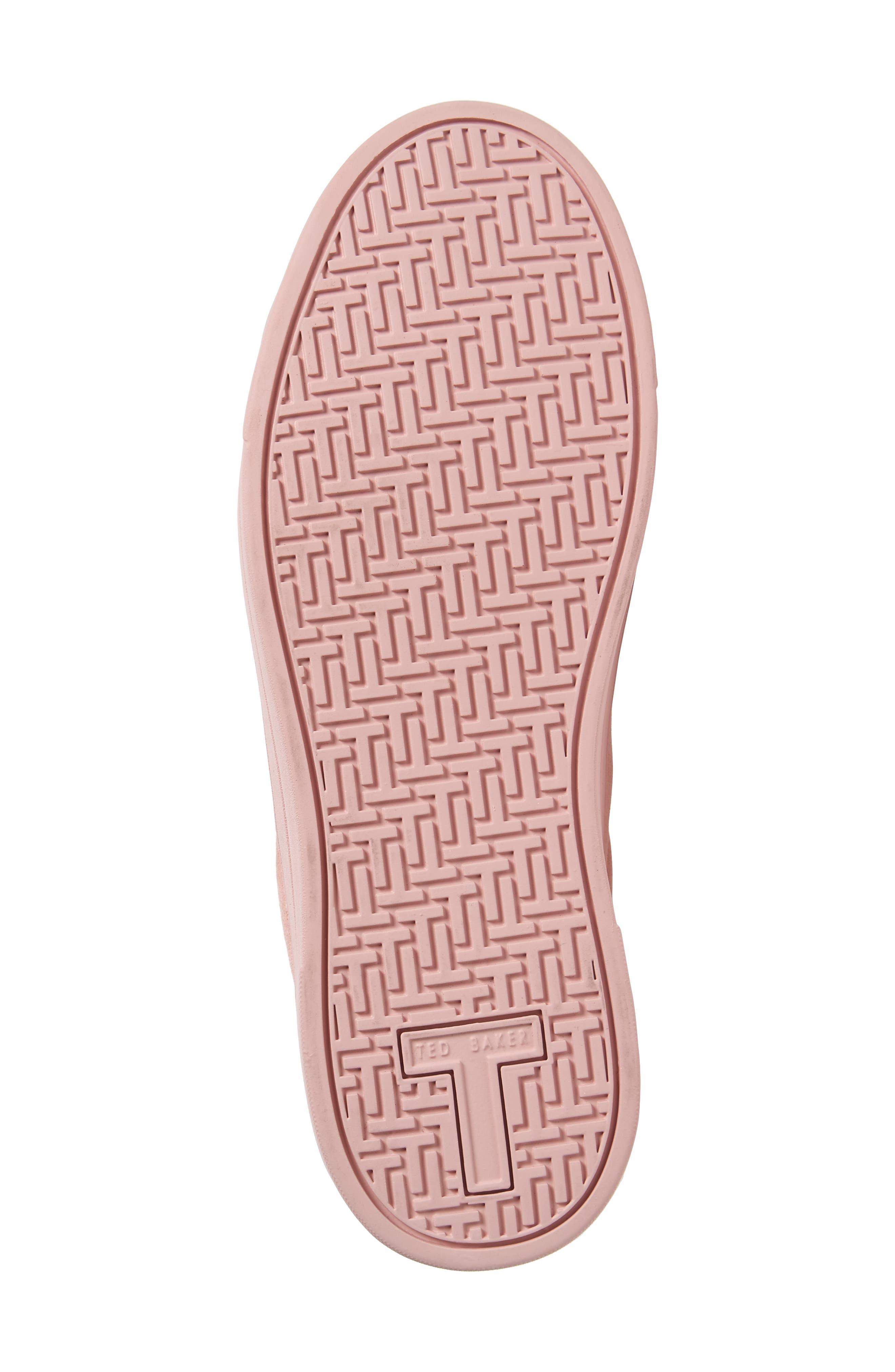 Kelleip Sneaker,                             Alternate thumbnail 5, color,                             Mink Pink Suede